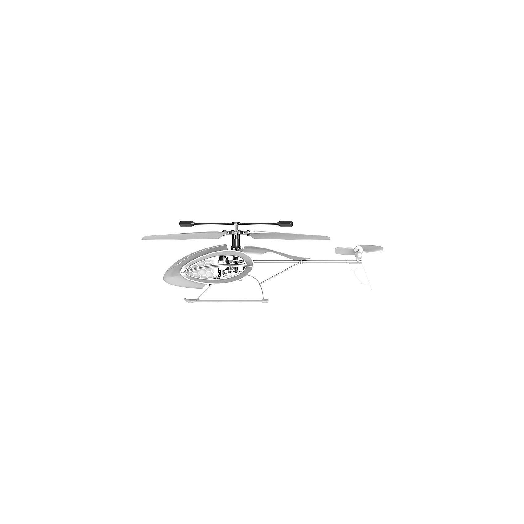 Вертолет 4-х канальный Феникс ИК, SilverlitСамолёты и вертолёты<br>Вертолет 4-х канальный Феникс ИК, Silverlit.<br><br>Характеристики:<br><br>- Комплектация: вертолёт, четырёхканальный пульт управления, инструкция, 2 запасных винта, USB-шнур для зарядки<br>- Батарейки для пульта д/у: 4 х ААА (не входят в комплект)<br>- Материал: пластик, металл<br>- Длина игрушки: 25 см.<br>- Количество каналов: 4<br>- Время зарядки: 30 минут<br>- Упаковка: картонная коробка блистерного типа<br>- Размер упаковки: 30 х 8 х 33 см.<br><br>4-х канальный вертолет Феникс ИК – это серебристая модель с LED-подсветкой, выполненная с четкими линиями, без излишних дополнений. Система стабилизации со встроенным гироскопом позволяет взлетать медленно и плавно и выравнивать вертолет в полете, когда он наклонится. Вертолёт летает вперёд, назад, вверх, вниз, вокруг своей оси и даже боком. В воздухе вертолет держится устойчиво и легко управляется. Поднимать вертолет можно на рассчитанную высоту и выполнять полет в закрытом помещении, пролетать под домашней мебелью и взмывать под самый потолок. Вертолёт умеет взлетать и заходить на посадку в автоматическом режиме, функция доступна благодаря встроенным сенсорам. Продукция сертифицирована, экологически безопасна для ребенка, использованные красители не токсичны и гипоаллергенны.<br><br>Вертолет 4-х канальный Феникс ИК, Silverlit можно купить в нашем интернет-магазине.<br><br>Ширина мм: 89<br>Глубина мм: 305<br>Высота мм: 356<br>Вес г: 500<br>Возраст от месяцев: 36<br>Возраст до месяцев: 2147483647<br>Пол: Унисекс<br>Возраст: Детский<br>SKU: 5059839