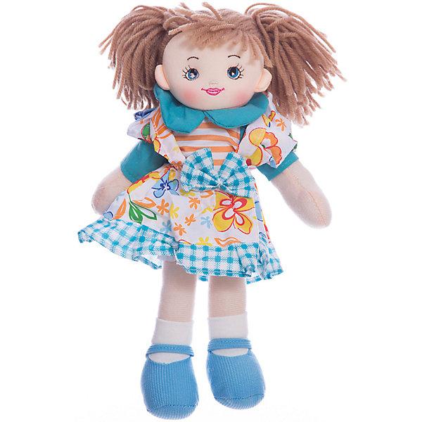 Кукла Хозяюшка, 30 см, Tiny LoveКуклы<br>Кукла Хозяюшка, 30 см, Tiny Love.<br><br>Характеристики:<br><br>- Материал: текстиль, наполнитель<br>- Высота игрушки: 30 см.<br><br>Мягкая кукла Хозяюшка, одетая в цветастый фартук, выглядит так, будто сейчас бросится хлопотать по дому, а короткие рукава, строгий воротничок и целеустремленный взгляд только подтверждают ее твердое намерение взяться за работу. С такой хозяюшкой в доме точно всегда будет чисто и опрятно! Кукла изготовлена из приятного на ощупь текстиля, она безопасна даже для маленьких детей, ее можно стирать.<br><br>Куклу Хозяюшка, 30 см, Tiny Love можно купить в нашем интернет-магазине.<br><br>Ширина мм: 140<br>Глубина мм: 300<br>Высота мм: 60<br>Вес г: 125<br>Возраст от месяцев: 36<br>Возраст до месяцев: 2147483647<br>Пол: Унисекс<br>Возраст: Детский<br>SKU: 5059847
