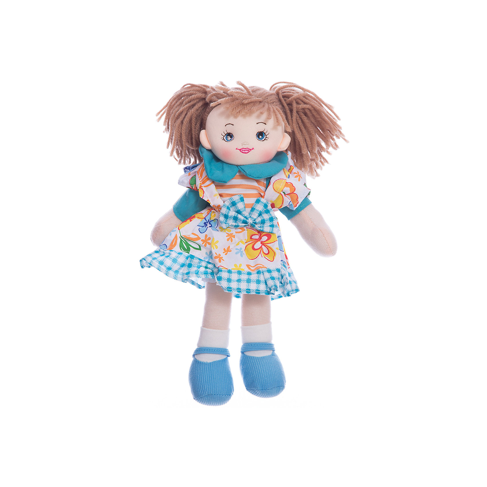 Кукла Хозяюшка, 30 см, Tiny LoveМягкие куклы<br>Кукла Хозяюшка, 30 см, Tiny Love.<br><br>Характеристики:<br><br>- Материал: текстиль, наполнитель<br>- Высота игрушки: 30 см.<br><br>Мягкая кукла Хозяюшка, одетая в цветастый фартук, выглядит так, будто сейчас бросится хлопотать по дому, а короткие рукава, строгий воротничок и целеустремленный взгляд только подтверждают ее твердое намерение взяться за работу. С такой хозяюшкой в доме точно всегда будет чисто и опрятно! Кукла изготовлена из приятного на ощупь текстиля, она безопасна даже для маленьких детей, ее можно стирать.<br><br>Куклу Хозяюшка, 30 см, Tiny Love можно купить в нашем интернет-магазине.<br><br>Ширина мм: 140<br>Глубина мм: 300<br>Высота мм: 60<br>Вес г: 125<br>Возраст от месяцев: 36<br>Возраст до месяцев: 2147483647<br>Пол: Унисекс<br>Возраст: Детский<br>SKU: 5059847