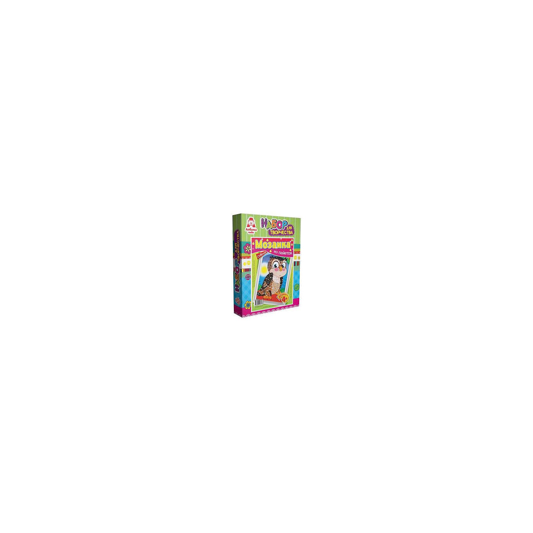 Азбука Тойс Картина из пайеток Совёнок картины в квартиру картина etude 2 102х130 см
