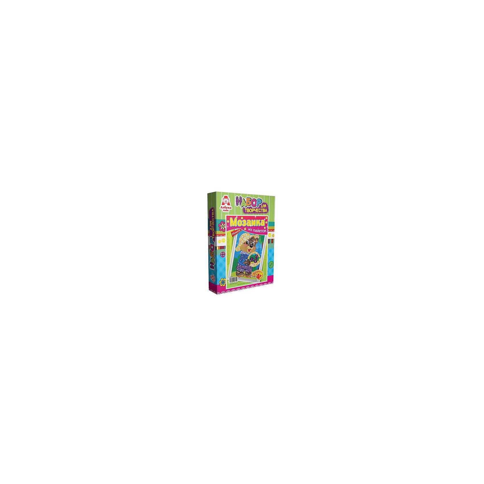 Картина из пайеток МишкаМозаика детская<br>Картина из пайеток Мишка.  <br><br>Характеристики:<br><br>• Размеры 28х21х5 см.<br>• В комплект входит:<br>- пенопластовая основа,<br>- цветная схема,<br>- сборная рамка;<br>- пайетки,<br>- пины - гвоздики,<br>- инструкция.<br><br>Пайетки - это блестящие кружочки разного цвета, при помощи которых, можно создавать красивые блестящие картины в виде мозаики Пайетка прикалывается к основе при помощи булавочки-гвоздика. Занятие с набором Мозаика из пайеток развивает творческие способности, воображение, концентрацию внимания, мелкую моторику, аккуратность и усидчивость. Такая картина станет украшением вашего дома или станет прекрасным подарком. Желаем Вам приятной творческой работы!<br><br>Картину из пайеток Мишка, можно купить в нашем интернет – магазине.<br><br>Ширина мм: 210<br>Глубина мм: 50<br>Высота мм: 280<br>Вес г: 128<br>Возраст от месяцев: 48<br>Возраст до месяцев: 108<br>Пол: Женский<br>Возраст: Детский<br>SKU: 5062966