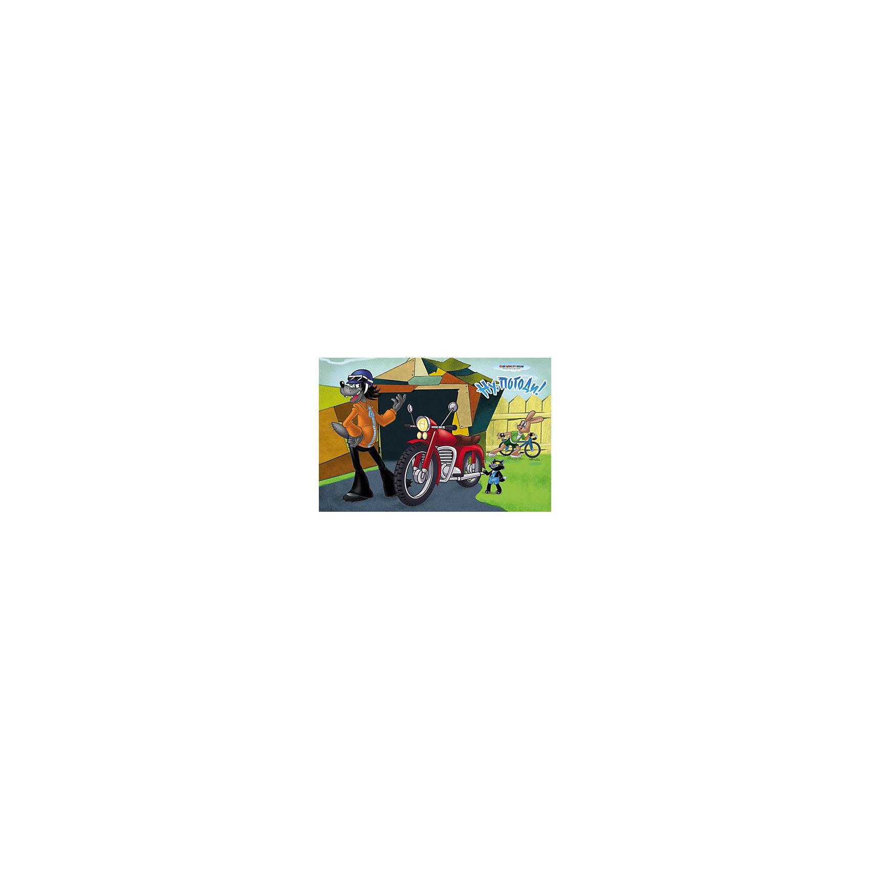 МФК-профит Настольная салфетка «НУ ПОГОДИ! - Мотоцикл» 44х28 см, дизайн 3Д кальян 3д модель