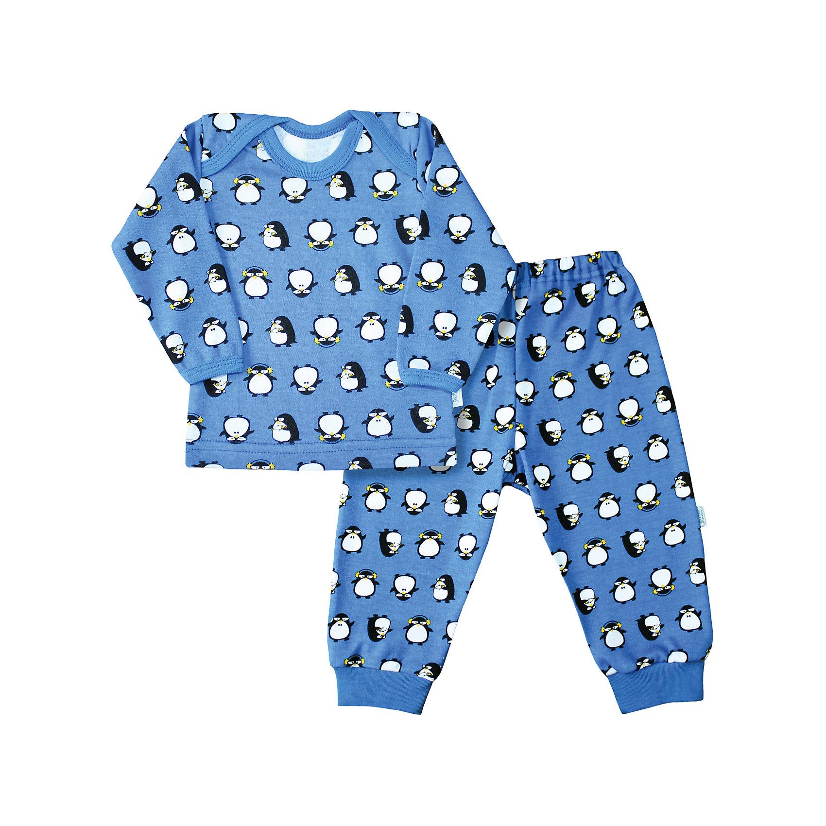 Пижама для мальчика Веселый малышПижамы и сорочки<br>Пижама из интерлока (пенье).<br>Состав:<br>100% Хлопок<br><br>Ширина мм: 196<br>Глубина мм: 10<br>Высота мм: 154<br>Вес г: 152<br>Цвет: голубой<br>Возраст от месяцев: 3<br>Возраст до месяцев: 6<br>Пол: Мужской<br>Возраст: Детский<br>Размер: 68<br>SKU: 5064282
