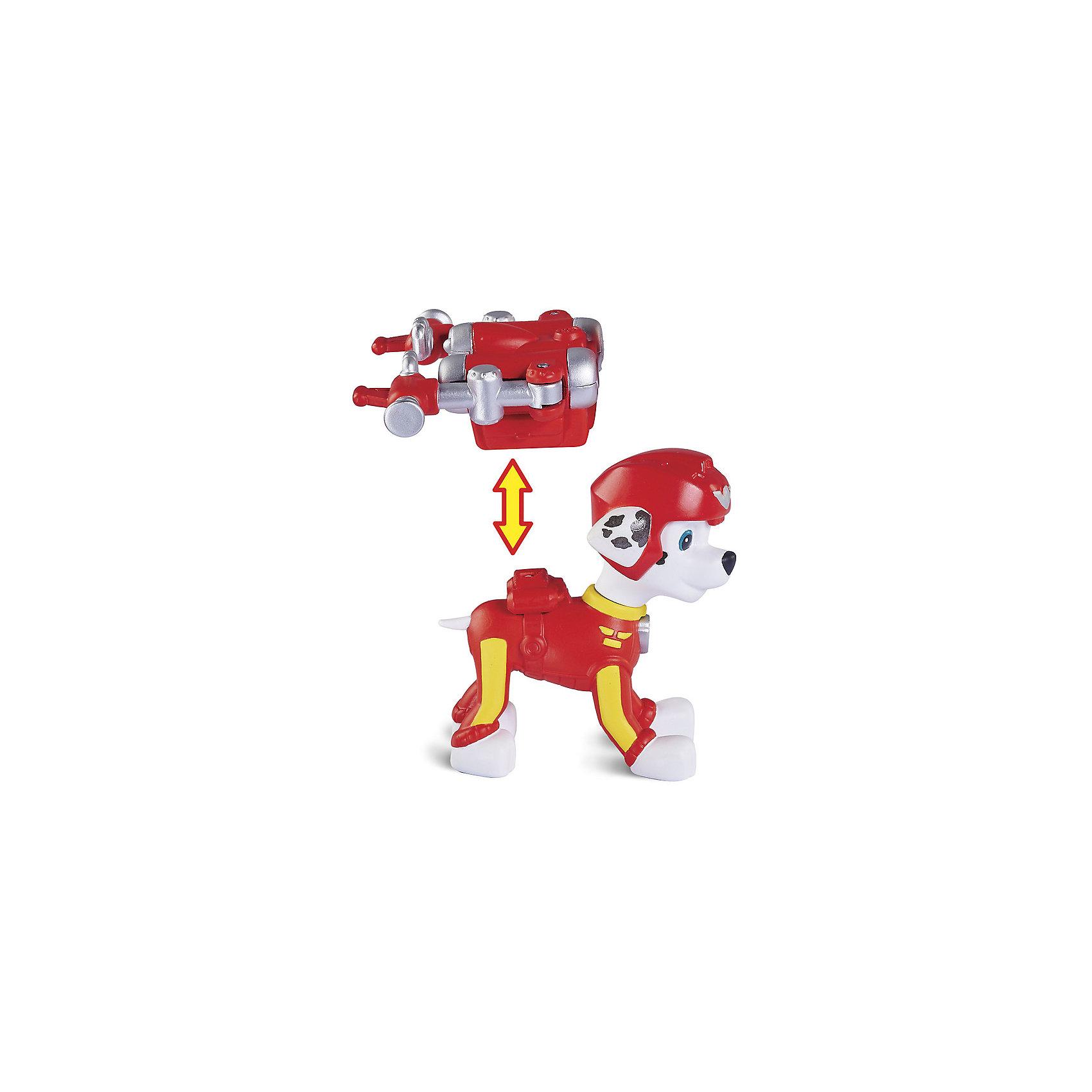 Фигурка воздушного спасателя Маршал, Щенячий ПатрульЛюбимые герои<br>Фигурка воздушного спасателя Маршал, Щенячий Патруль<br><br>Характеристики игровой фигурки Paw Patrol:<br><br>• размер фигурки: 7 см;<br>• аксессуар: съемный рюкзак;<br>• как снять рюкзак: нажать на кнопку; <br>• материал: пластик;<br>• серия Paw Patrol: Воздушные спасатели;<br>• размер упаковки: 25х5х19 см;<br>• вес упаковки: 226 г;<br>• оформление упаковки: картонная коробка.<br><br>Воздушные спасатели готовы прийти на помощь в любой ситуации. Точные копии героев из мультфильма «Щенячий Патруль» выполнены из пластика, детализированы, неподвижны. В комплекте предусмотрен аксессуар – съемный рюкзачок.  <br><br>Фигурку воздушного спасателя Маршал, Щенячий Патруль можно купить в нашем интернет-магазине.<br><br>Ширина мм: 260<br>Глубина мм: 50<br>Высота мм: 190<br>Вес г: 168<br>Возраст от месяцев: 36<br>Возраст до месяцев: 2147483647<br>Пол: Унисекс<br>Возраст: Детский<br>SKU: 5064294