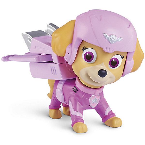 Фигурка воздушного спасателя Скай, Щенячий ПатрульФигурки из мультфильмов<br>Фигурка воздушного спасателя Скай, Щенячий Патруль<br><br>Характеристики игровой фигурки Paw Patrol:<br><br>• размер фигурки: 7 см;<br>• аксессуар: съемный рюкзак;<br>• как снять рюкзак: нажать на кнопку; <br>• материал: пластик;<br>• серия Paw Patrol: Воздушные спасатели;<br>• размер упаковки: 25х5х19 см;<br>• вес упаковки: 226 г;<br>• оформление упаковки: картонная коробка.<br><br>Воздушные спасатели готовы прийти на помощь в любой ситуации. Точные копии героев из мультфильма «Щенячий Патруль» выполнены из пластика, детализированы, неподвижны. В комплекте предусмотрен аксессуар – съемный рюкзачок.  <br><br>Фигурку воздушного спасателя Скай, Щенячий Патруль можно купить в нашем интернет-магазине.<br>Ширина мм: 260; Глубина мм: 190; Высота мм: 50; Вес г: 1683; Возраст от месяцев: 36; Возраст до месяцев: 2147483647; Пол: Унисекс; Возраст: Детский; SKU: 5064297;