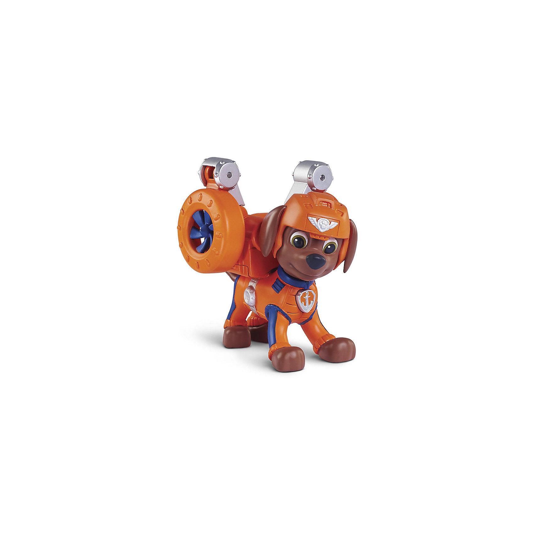 Spin Master Фигурка воздушного спасателя Зума, Щенячий Патруль spin master большой автомобиль спасателей экскаватор крепыша щенячий патруль