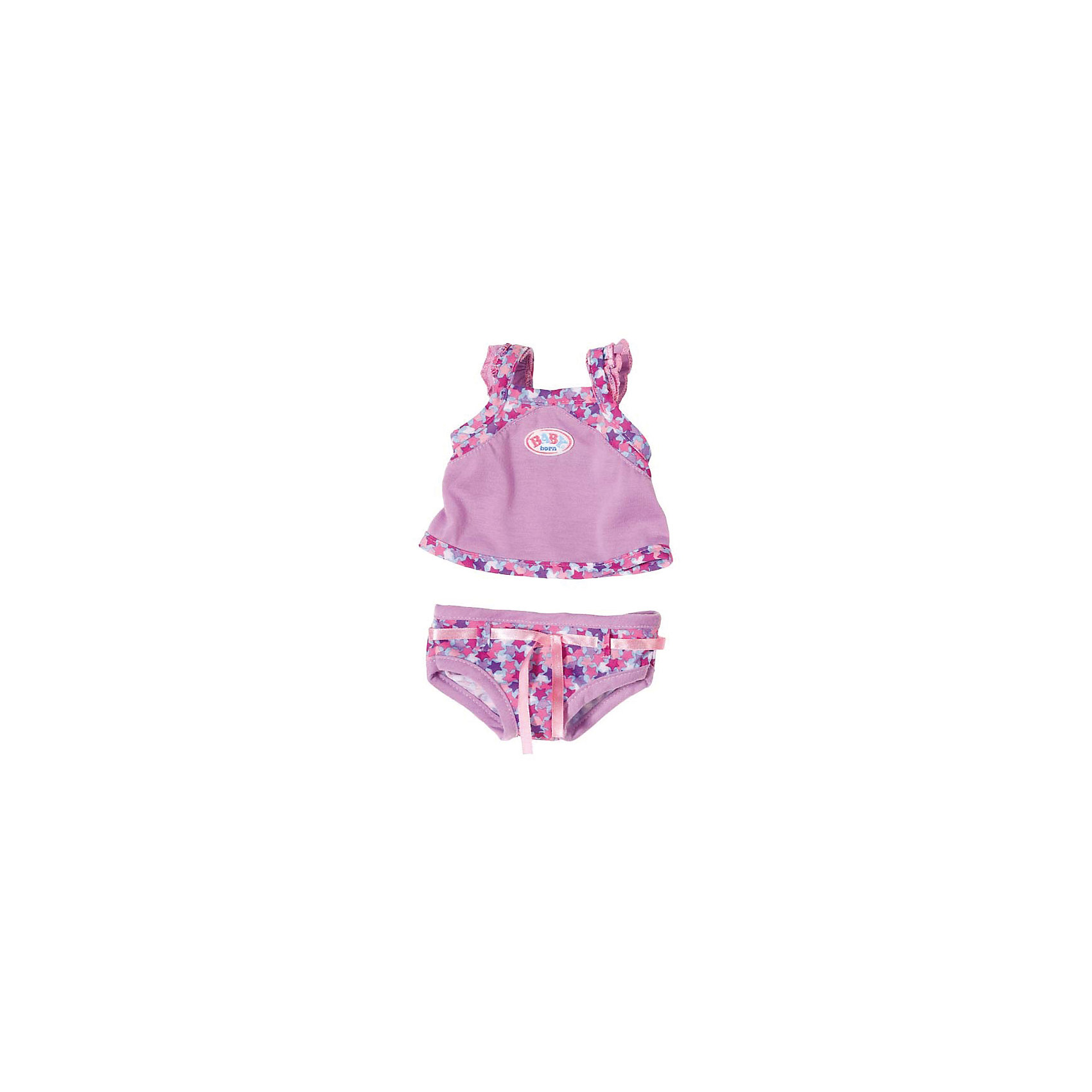 Zapf Creation Нижнее белье, фиолетовый, BABY born flower kids baby girl clothing dress princess sleeveless ruffles tutu ball petal tulle party formal cute dresses girls