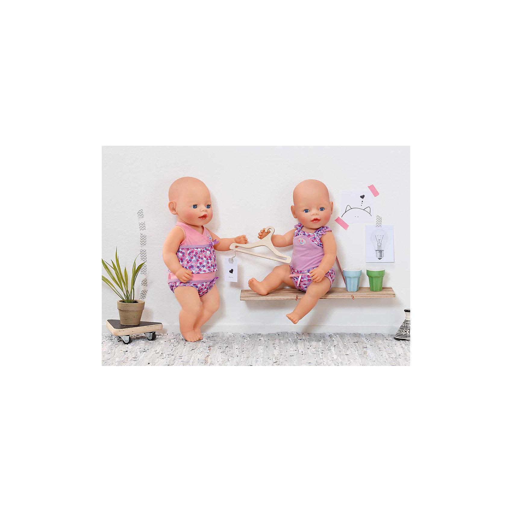 Zapf Creation Нижнее белье, розово-фиолетовый, BABY born нижнее белье из латвии где