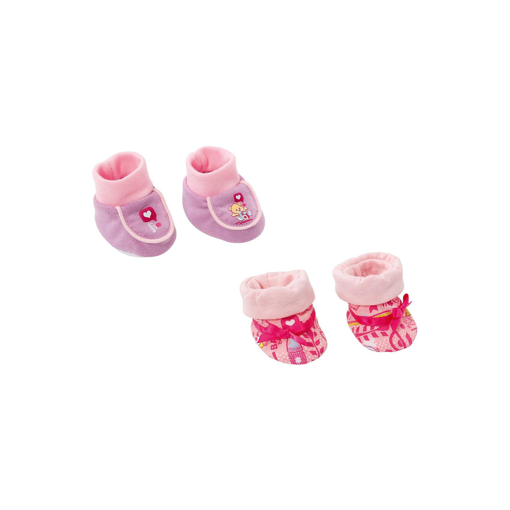 Zapf Creation Мягкие ботинки, розовые, BABY born zapf creation baby born дракон из страны чудес дисплей 822418