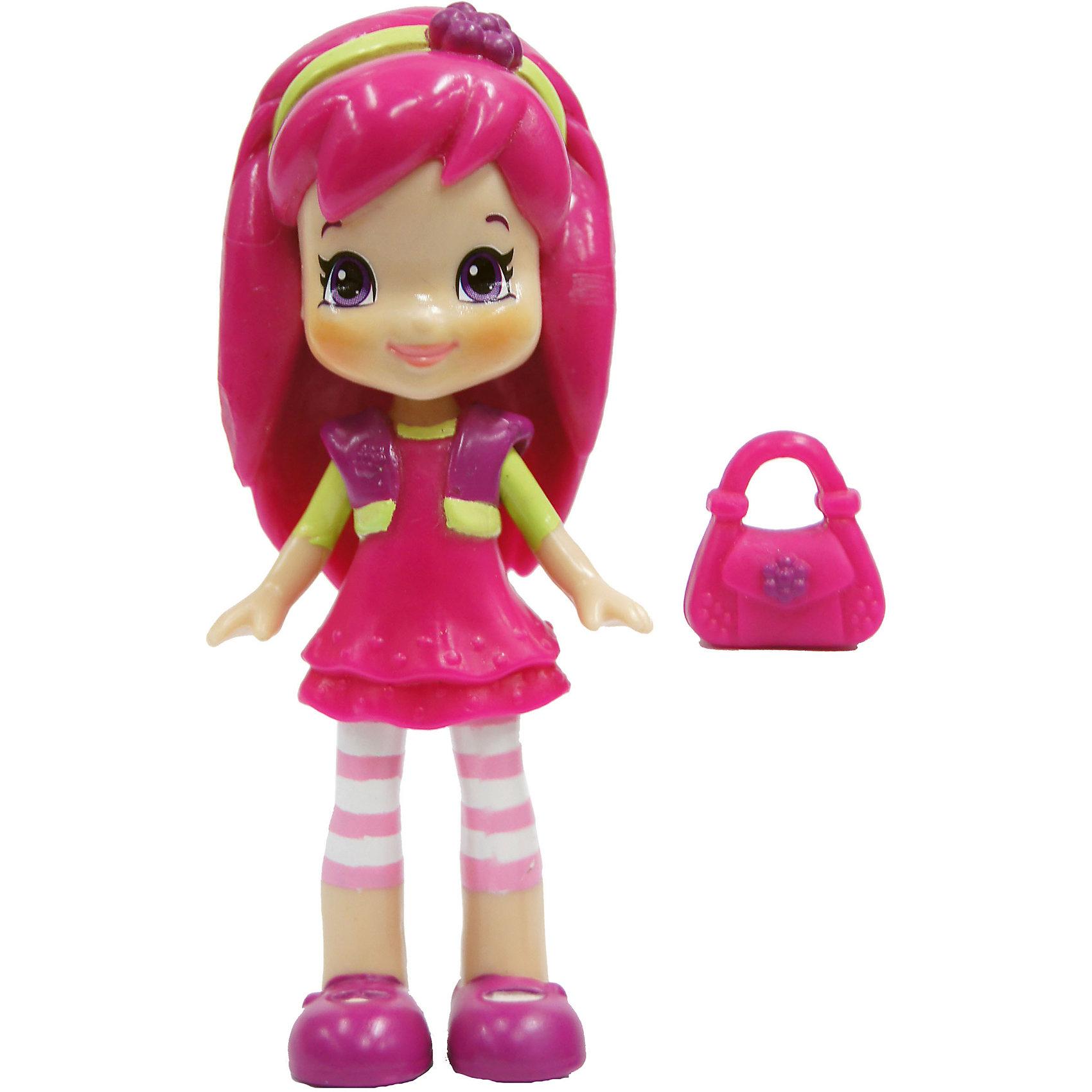 Кукла Малина, Шарлотта Земляничка, 8 см, The BridgeМинифигурка Strawberry Shortcake высотой 8 см – героиня мультсериала для девочек. Пластиковая фигурка Малины с подвижными конечностями. В комплекте с куколкой идет миниатюрная сумочка, которую можно надеть героине на ручку. <br><br>В процессе игры девочки придумывают новые сюжеты для героев мультфильма «Шарлотта Земляничка», заботятся о своих подопечных. <br><br>Размер упаковки: 11х3х16 см<br>Вес упаковки: 100 г<br><br>Куклу Малина, Шарлотта Земляничка, 8 см, The Bridge можно купить в нашем интернет-магазине.<br><br>Ширина мм: 40<br>Глубина мм: 115<br>Высота мм: 160<br>Вес г: 81<br>Возраст от месяцев: 36<br>Возраст до месяцев: 2147483647<br>Пол: Женский<br>Возраст: Детский<br>SKU: 5064323