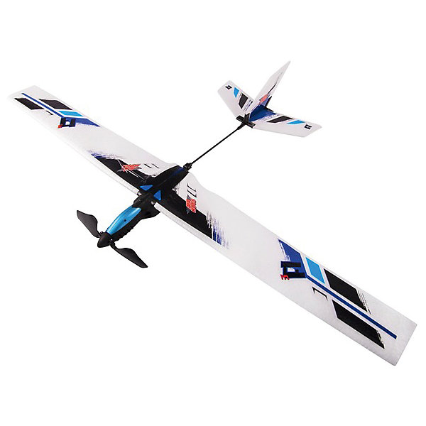 Планер с моторчиком, синий, AirHogsСамолёты и вертолёты<br>Электронная игрушка планер AirHogs с моторчиком. <br><br>Характеристики планера с моторчиком AirHogs:<br><br>• преодолевает расстояние до 22 метров;<br>• размах крыльев составляет 56 см;<br>• батарейки включены в комплект: 2 шт. типа АА;<br>• размер упаковки: 25,3х15х30 см;<br>• вес упаковки: 737 г.<br><br>Сборная модель планера с моторчиком для игр на улице работает от батареек. Легкий пластик, большие крылья и надежное крепление деталей друг с другом дает планеру маневренность и плавный ход. Кнопка активации находится возле кабины, предусмотрено автоматическое отключение через 12 секунд. Планер в собранном виде украшается наклейками. <br><br>Планер с моторчиком, синий, AirHogs можно купить в нашем интернет-магазине.<br><br>Ширина мм: 30<br>Глубина мм: 180<br>Высота мм: 350<br>Вес г: 312<br>Возраст от месяцев: 36<br>Возраст до месяцев: 2147483647<br>Пол: Мужской<br>Возраст: Детский<br>SKU: 5064331