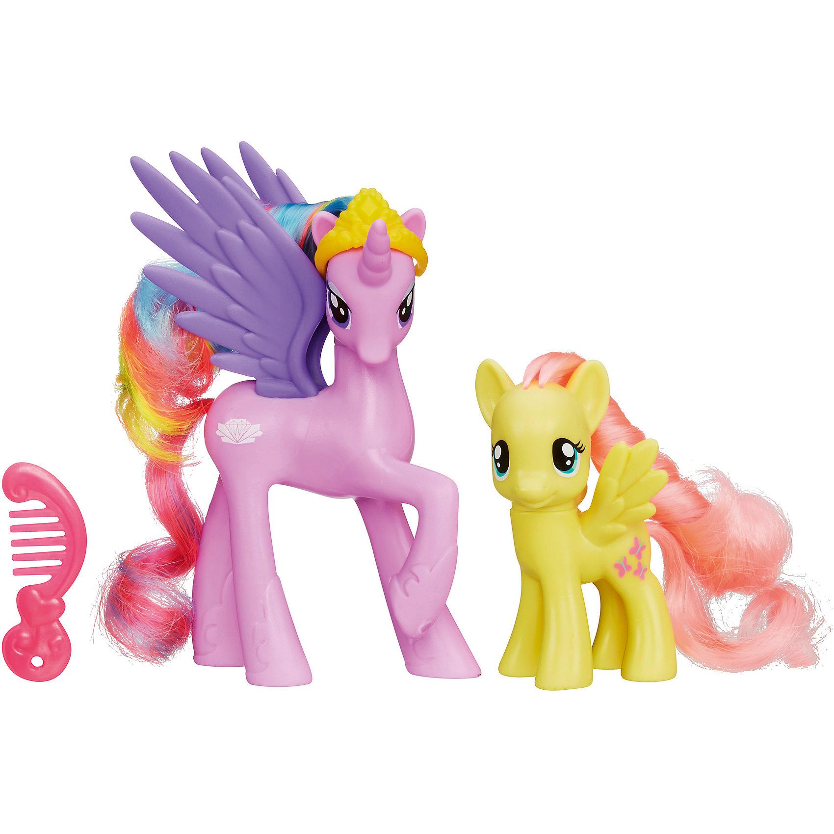 Игровой набор Принцессы My Little Pony, A2004/A9882Игровой набор Принцессы My Little Pony, A2004/A9882.<br><br>Характеристики:<br><br>- В наборе: 2 лошадки, аксессуары<br>- Размер лошадок: 12 и 8 см.<br>- Материал: высококачественный пластик<br>- Размер упаковки: 19,5х5,5х16,5 см.<br><br>Игровой набор Принцессы включает в себя 2 знаменитых персонажей мультсериала Моя маленькая пони. Дружба - это чудо! – белоснежную пони-аликорна принцессу Стерлинг и пони Флатершай. Фигурки имеют высокую степень детализации. Голову пони Стерлинг украшает корона. Роскошные цветные гривы и хвостики лошадок можно расчесывать, заплетать косички и делать всевозможные укладки. В комплекте есть маленький гребешок, заколки и браслет на ножку для пони. Головы лошадок на шарнирах и их можно поворачивать. Элементы набора выполнены из высококачественного пластика, безопасны для детей.<br><br>Игровой набор Принцессы My Little Pony, A2004/A9882 можно купить в нашем интернет-магазине.<br><br>Ширина мм: 204<br>Глубина мм: 169<br>Высота мм: 610<br>Вес г: 156<br>Возраст от месяцев: 432<br>Возраст до месяцев: 864<br>Пол: Женский<br>Возраст: Детский<br>SKU: 5064669