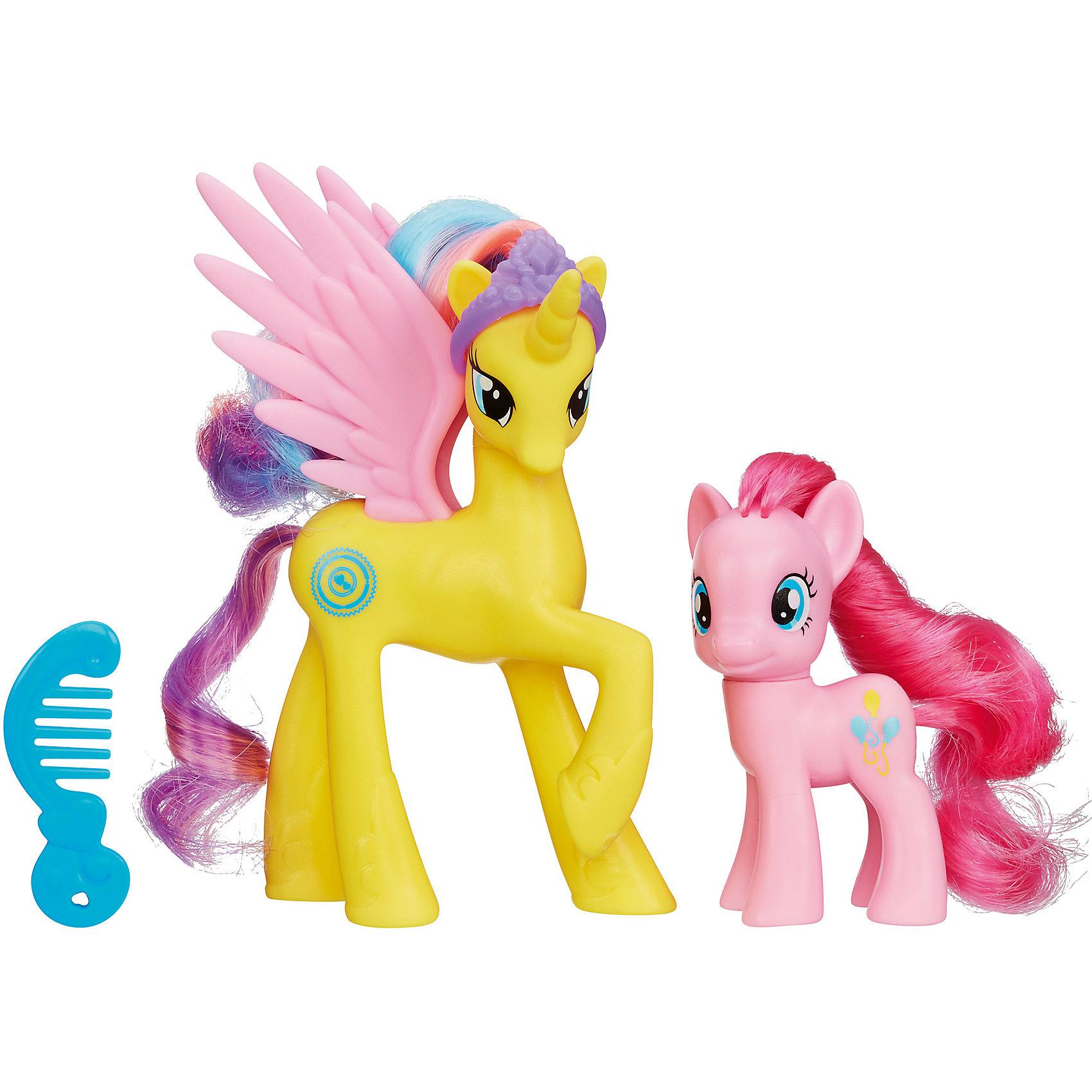 Игровой набор Принцессы My Little Pony, A2004/A9883Игровой набор Принцессы My Little Pony, A2004/A9883.<br><br>Характеристики:<br><br>- В наборе: 2 лошадки, аксессуары<br>- Размер лошадок: 12 и 8 см.<br>- Материал: высококачественный пластик<br>- Размер упаковки: 19,5х5,5х16,5 см.<br><br>Игровой набор Принцессы включает в себя 2 знаменитых персонажей мультсериала Моя маленькая пони. Дружба - это чудо! – лунную пони-аликорна принцессу Луну и модницу пони Рарити. Фигурки имеют высокую степень детализации. Голову пони Луна украшает корона. Роскошные цветные гривы и хвостики лошадок можно расчесывать, заплетать косички и делать всевозможные укладки. В комплекте есть маленький гребешок, заколки и браслет на ножку для пони. Головы лошадок на шарнирах и их можно поворачивать. Элементы набора выполнены из высококачественного пластика, безопасны для детей.<br><br>Игровой набор Принцессы My Little Pony, A2004/A9883 можно купить в нашем интернет-магазине.<br><br>Ширина мм: 204<br>Глубина мм: 169<br>Высота мм: 610<br>Вес г: 156<br>Возраст от месяцев: 432<br>Возраст до месяцев: 864<br>Пол: Женский<br>Возраст: Детский<br>SKU: 5064670