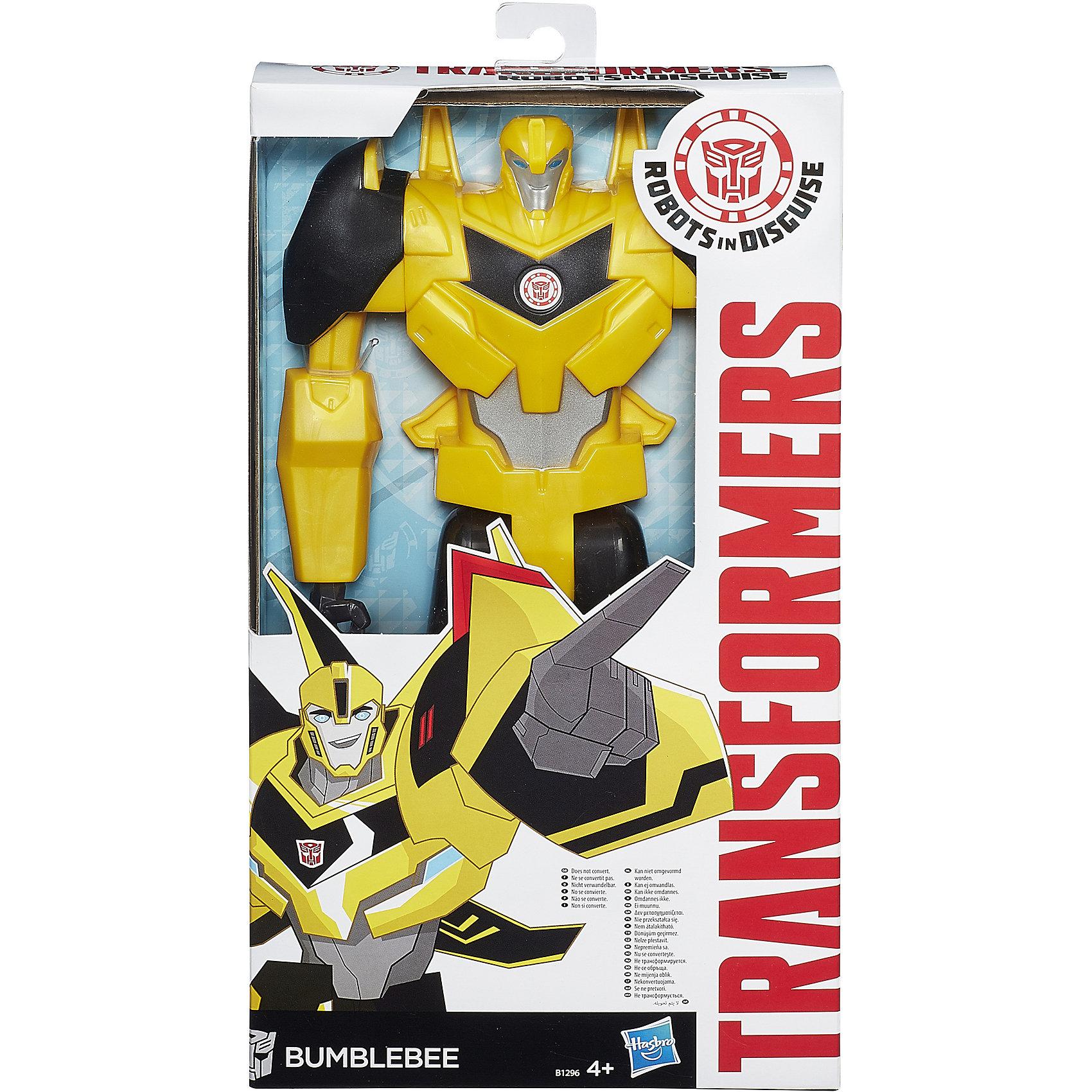 Hasbro Титан: Роботы под прикрытием, 30 см, Трансформеры, B0760/B1296 hasbro hasbro трансформеры robots in disguise autobot drift