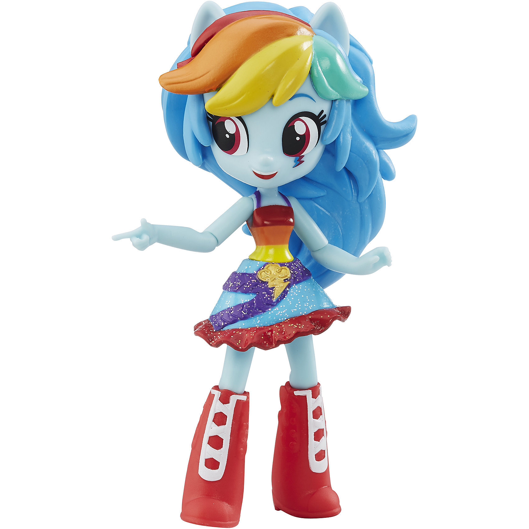 Hasbro Мини-кукла Радуга Дэш, Эквестрия герлз, B4903/B7786  hasbro мини кукла эквестрия герлз b4903 b7793