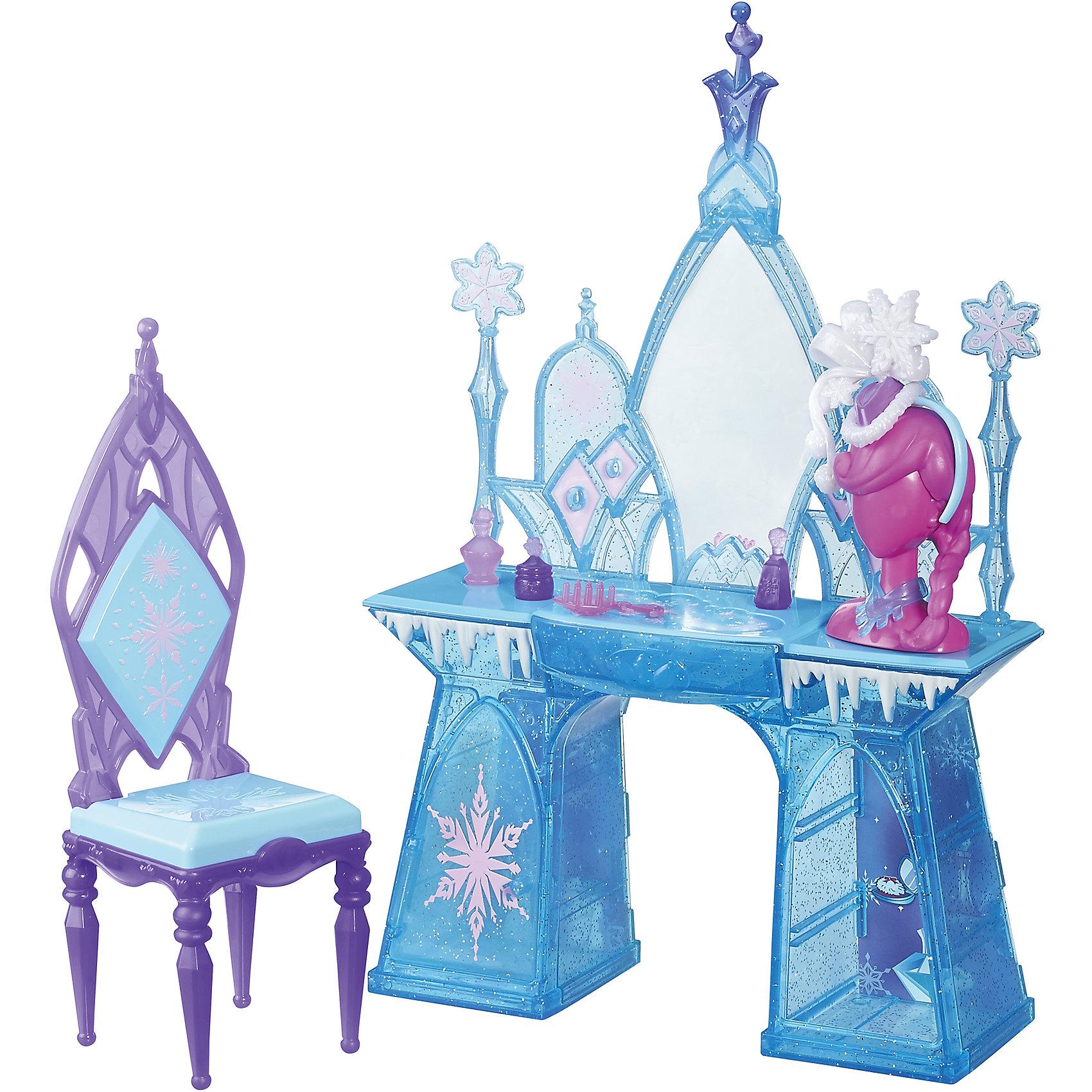 Hasbro Игровой набор Туалетный столик Эльзы, Холодное сердце, B5175/B5176 hasbro play doh игровой набор из 3 цветов цвета в ассортименте с 2 лет