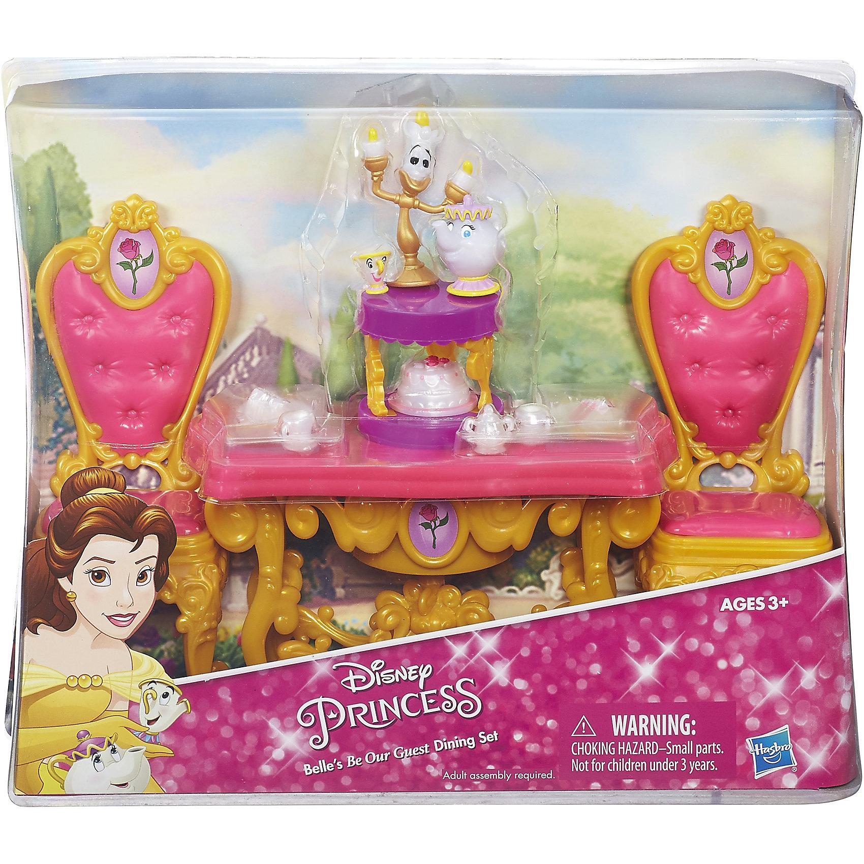 Игровой набор для ужина Белль, Принцессы Дисней, B5309/B5310 от myToys