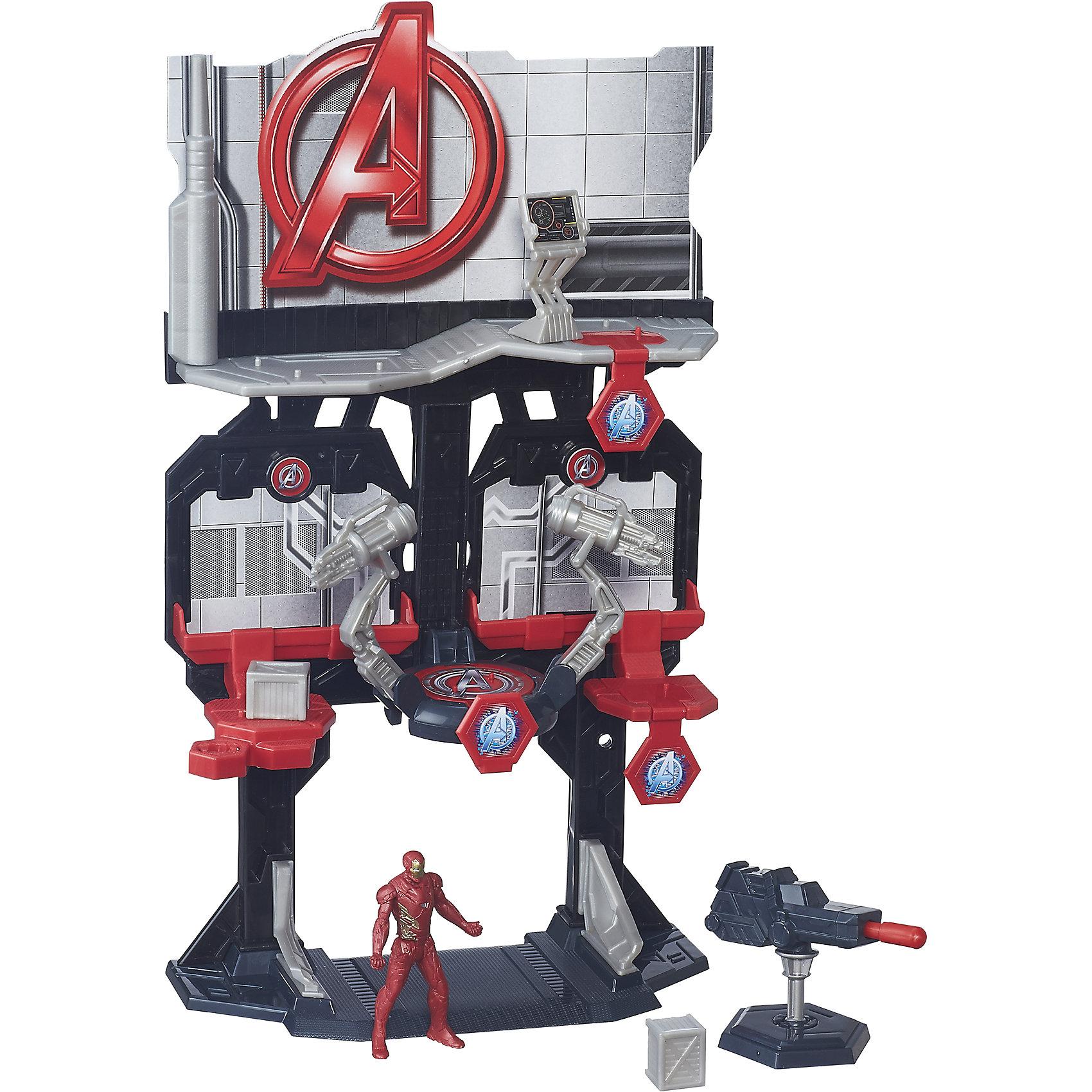 Игровая башня Мстителей, Железный человек, B5770/B6740Игрушки<br>Игровая башня Мстителей, B5770/B6740.<br><br>Характеристики:<br>- В наборе: фигурка Железного человека; оружие; башня.<br>- Материал: пластик<br>- Размер упаковки: 22,9х6,4х30,5 см.<br>- Вес в упаковке: 500 г.<br><br>Башня Мстителей – это отличный набор для поклонников вселенной Marvel, созданный по мотивам фильма Капитан Америка 3: Гражданская война. По сюжету противостояние правительства и людей со сверхспособностями дает начало великой битве за свободу существования последних. Одну из воюющих сторон представляет Железный человек, поддерживающий планы правительства. Многоэтажная башня оборудована всем необходимым и станет отличным штабом для защиты и обороны. Игровой набор позволит вашему ребенку воспроизвести сцену сражения, или придумать собственный сюжет. Башню ребенку предстоит собрать самому - с небольшой помощью взрослых. Элементы наборов Игровая башня Мстителей сочетаются между собой, собрав их все, можно создать большую штаб-квартиру Мстителей. Ваш ребенок весело проведет время, играя с набором дома, на детской площадке или в песочнице. А процесс сборки поможет малышу развить мелкую моторику, внимательность и усидчивость. Порадуйте своего малыша таким замечательным подарком!<br><br>Набор Игровая башня Мстителей, B5770/B6740 можно купить в нашем интернет-магазине.<br><br>Ширина мм: 64<br>Глубина мм: 229<br>Высота мм: 1450<br>Вес г: 580<br>Возраст от месяцев: 48<br>Возраст до месяцев: 144<br>Пол: Мужской<br>Возраст: Детский<br>SKU: 5064720