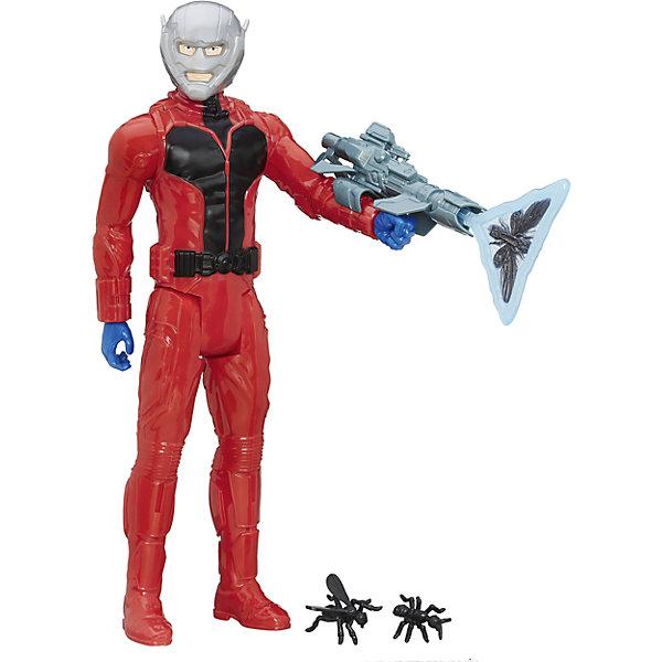 Фигурка, Титаны, Мстители, Человек-Муравей, B5773/B6148Коллекционные и игровые фигурки<br>Фигурка, Титаны, Мстители, B5773/B6148.<br><br>Характеристики:<br><br>- В наборе: фигурка; оружие; 2 снаряда-муравья<br>- Материал: пластик<br>- Высота фигурки: 30 см.<br><br>Большая фигурка Человека-муравья с оружием из серии Титаны от Hasbro (Хасбро) вызовет настоящий восторг у юного поклонника мультфильмов и комиксов об отважных защитниках мира и их грозных врагах. Имея в игровом арсенале этого персонажа, ребенок сможет разыграть множество увлекательнейших сюжетов. В них в очередной раз развернется отчаянная борьба за мир, и смелый герой вновь спасет его благодаря своей силе, ловкости и находчивости! Человек-муравей одет в красный костюм с черным поясом, синие перчатки и серый шлем, полностью скрывающий лицо героя. В руке он держит уникальное оружие. Фигурка имеет пять точек артикуляции, что позволяет придать ей необходимое положение во время игры. Игрушка выполнена из пластика высокого качества, тщательно детализирована, и выглядит ярко и эффектно.<br><br>Фигурку, Титаны, Мстители, B5773/B6148 можно купить в нашем интернет-магазине.<br><br>Ширина мм: 309<br>Глубина мм: 172<br>Высота мм: 1250<br>Вес г: 367<br>Возраст от месяцев: 48<br>Возраст до месяцев: 108<br>Пол: Мужской<br>Возраст: Детский<br>SKU: 5064721