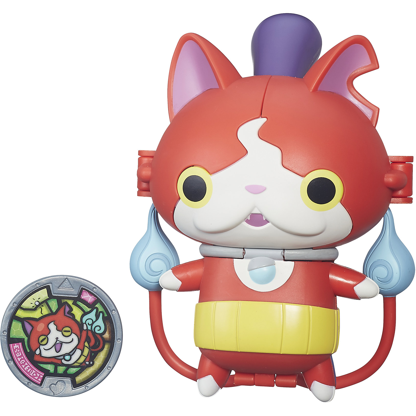 Hasbro Меняющаяся фигурка с медалью, Екай вотч, Jibanyan B5946/B5947
