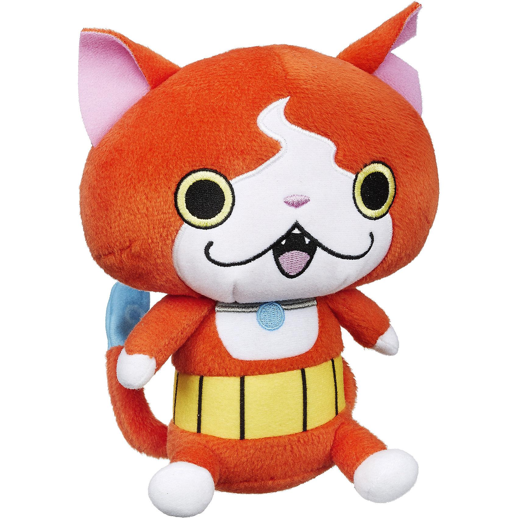 Мягкая игрушка Плюш, Екай вотч, Jibanyan B5949/B5950Плюш, Екай вотч, B5949/B5950.<br><br>Характеристики:<br><br>- Материал: плюш, текстиль<br>- Размер упаковки: 15 х 10 х 20 см.<br><br>Плюшевая игрушка в виде рыжего кота-призрака по имени Jibanyan станет началом яркой коллекции настоящего ценителя Yo-Kai. Игрушка в точности повторяет своего прототипа, поэтому может стать основной для разыгрывания увлекательных приключений по мотивам по мотивам популярного аниме о духах Йокай. Игрушка изготовлена из гипоаллергенного плюша с приятной на ощупь бархатистой поверхностью, окрашена стойкими безопасными красителями.<br><br>Игрушку Плюш, Екай вотч, B5949/B5950 можно купить в нашем интернет-магазине.<br><br>Ширина мм: 102<br>Глубина мм: 152<br>Высота мм: 675<br>Вес г: 108<br>Возраст от месяцев: 36<br>Возраст до месяцев: 144<br>Пол: Мужской<br>Возраст: Детский<br>SKU: 5064728