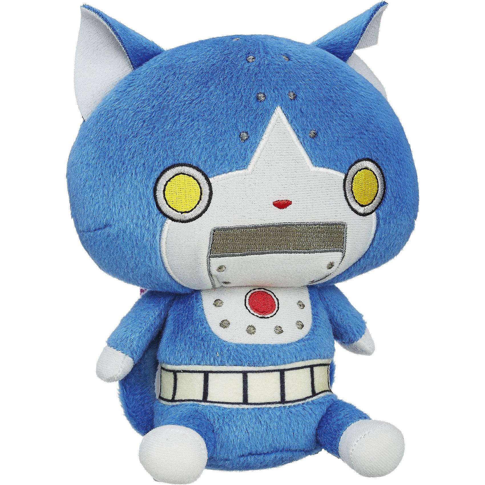 Мягкая игрушка Плюш, Екай вотч, Robonyan B5949/B5953Плюш, Екай вотч, B5949/B5953.<br><br>Характеристики:<br><br>- Материал: плюш, текстиль<br>- Размер упаковки: 15х10х20 см.<br><br>Плюшевая игрушка в виде синего робо-кота по имени Robonyan станет началом яркой коллекции настоящего ценителя Yo-Kai. Игрушка в точности повторяет своего прототипа, поэтому может стать основной для разыгрывания увлекательных приключений по мотивам популярного аниме о духах Йокай. Игрушка изготовлена из гипоаллергенного плюша с приятной на ощупь бархатистой поверхностью, окрашена стойкими безопасными красителями.<br><br>Игрушку Плюш, Екай вотч, B5949/B5953 можно купить в нашем интернет-магазине.<br><br>Ширина мм: 102<br>Глубина мм: 152<br>Высота мм: 675<br>Вес г: 108<br>Возраст от месяцев: 36<br>Возраст до месяцев: 144<br>Пол: Мужской<br>Возраст: Детский<br>SKU: 5064731