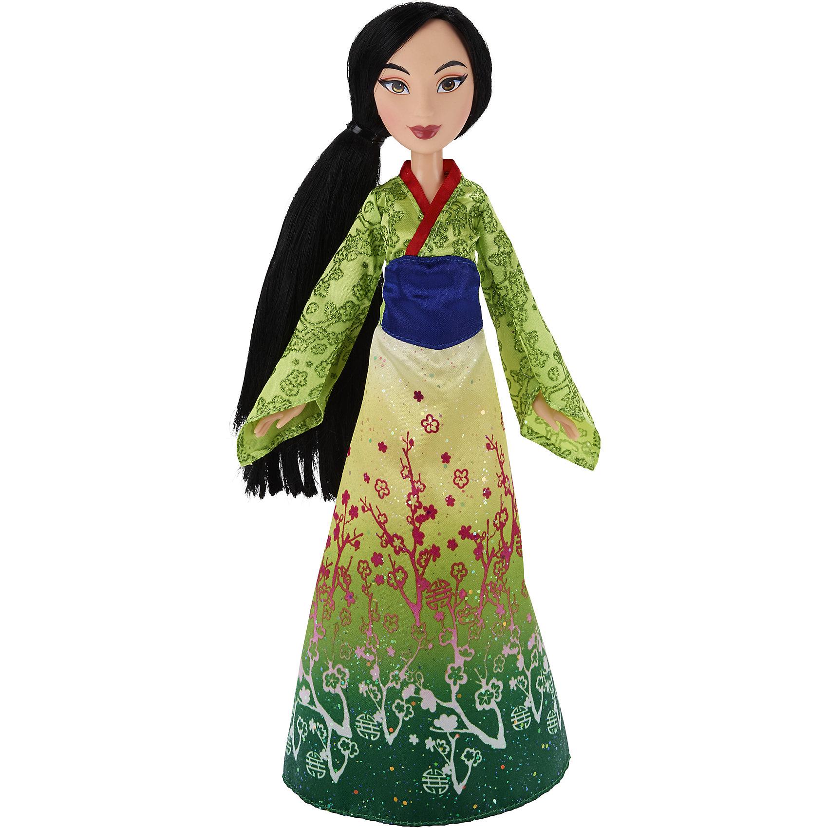 Hasbro Кукла Принцесса Мулан, Принцессы Дисней, B6447/B5827 hasbro мини кукла принцессы дисней