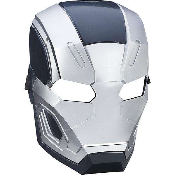 Маска Avengers Первый Мститель Воитель (War Machine)Детские карнавальные маски<br>Характеристики Маски Мстители War Machine (Военная Машина):<br><br>- герои мультфильмов: War Machine Военная Машина<br>- возраст: от 4 лет<br>- пол: для мальчиков<br>- размер упаковки: 19 * 11 * 30 см<br>- комплектация: маска<br><br>При помощи маски в виде Воителя, он же War Machine (Военная Машина) торговой марки Hasbro (Хасбо), друга Тони Старка, Ваш ребенок сможет перевоплотиться в своего любимого персонажа Настоящее имя Воителя - Джеймс Роудс. В рамках фильмов от Marvel, псевдоним Роудса - Железный Патриот, он даже стал правительственным агентом. В фильме Роудс был одет в резервный костюм Тони Старка, который тот ему подарил. Маска закрепляется на голове при помощи эластичной резинки, не создает дискомфортных ощущений, имеют специальные накладки для носа и глаз. С таким аксессуаром Ваш мальчик почувствует себя настоящим супергероем.<br><br>Маску героя War Machine (Военная Машина) торговой компании Hasbro (Хасбо) можно купить в нашем интернет-магазине.<br><br>Ширина мм: 100<br>Глубина мм: 190<br>Высота мм: 600<br>Вес г: 192<br>Возраст от месяцев: 60<br>Возраст до месяцев: 120<br>Пол: Мужской<br>Возраст: Детский<br>SKU: 5064752