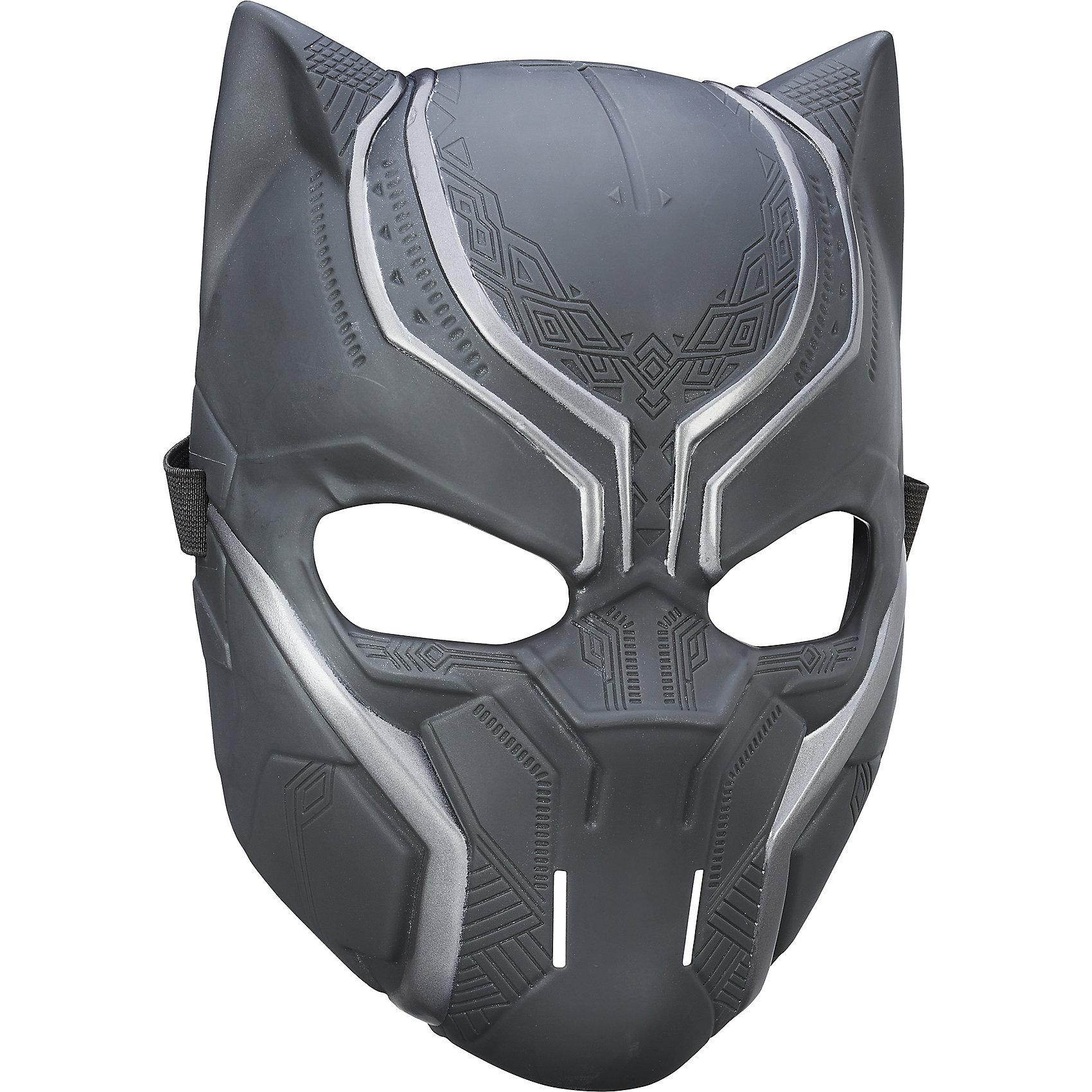 Маска Avengers Первый Мститель Черная Пантера (Black Panther)Характеристики Маски Мстители Avengers Black Panther (Черная Пантера):<br><br> - герои мультфильмов: Avengers Black Panther Черная Пантера <br> - возраст: от 4 лет<br> - пол: для мальчиков<br> - размер упаковки: 19 * 11 * 30 см<br> - комплектация: маска<br><br>Маска Avengers Black Panther (Черная Пантера) торговой компании Hasbro (Хасбо) создана точь – в – точь со своим киношным прототипом, поэтому непременно понравится мальчишкам и будет отличным дополнением к ролевым играм про Мстителей. Она изображает одного из персонажей этой серии – Черную пантеру (Avengers Black Panther)<br>Защитник Адской кухни, обладатель сверхспособностей: может поднимать большой вес, развивать скорость до 56 км/час. А благодаря повешенной регенерации, герой Пантера способен быстро исцелить раны, которые для обычных людей стали бы смертельными. Маска крепится на голову ребенка с помощью липучек, а накладки в области глаз и носа обеспечат ее комфортное ношение.<br><br>Маску героя Avengers Black Panther (Черная Пантера) торговой компании Hasbro (Хасбо) можно купить в нашем интернет-магазине.<br><br>Ширина мм: 100<br>Глубина мм: 190<br>Высота мм: 600<br>Вес г: 192<br>Возраст от месяцев: 60<br>Возраст до месяцев: 120<br>Пол: Мужской<br>Возраст: Детский<br>SKU: 5064753