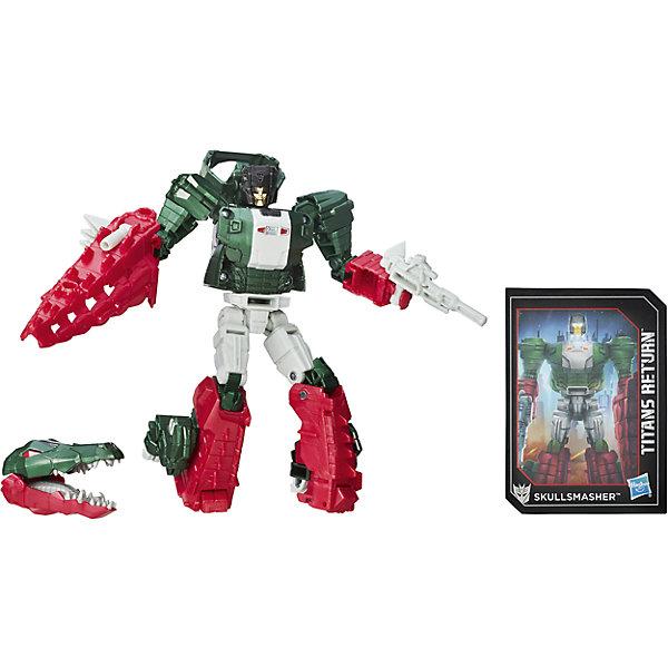 Фигурка Войны Титанов Дэлюкс, Дженерейшнс, Трансформеры, B7762/B7027Трансформеры-игрушки<br>Характеристики фигурки Войны Титанов Дэлюкс, Дженерейшнс, Трансформеры:<br><br>- возраст: от 8 лет<br>- пол: для мальчиков<br>- герои: Трансформеры / Transformers<br>- материал: пластик, текстиль.<br>- размер упаковки: 23 * 4 * 12 см.<br>- упаковка: блистер на картоне.<br>- высота трансформера: 23 см.<br>- вес: 27 г.<br>- страна обладатель бренда: США.<br><br>Трансформер серии Войны Титанов Дэлюкс, Дженерейшнс, Трансформеры от торговой марки Hasbro, станет любимой игрушкой для юного любителя роботов и техники.<br>Трансформеры Дженерэйшенс: Войны Титанов Вояджер - замечательная игрушка от всемирно известной торговой марки Hasbro (Хасбро), будет отличным подарком для любого мальчика к любому празднику! Этот работ может тремя простыми манипуляциями трансформироваться в грузовик, совсем как Оптимус Прайм - главный персонаж популярнейшей кинофраншизы Трансформеры. С такой игрушкой ребенок сможет затеять увлекательнейшую сюжетно-ролевую игру, воссоздавая сценки из любимого фильма, или придумывать собственные истории. Игрушка выполнена из высококачественных материалов, экологически чистых и безопасных для здоровья ребенка.<br><br>Войны Титанов Вояджер, Дженерейшнс, Трансформеры торговой марки Hasbro можно купить в нашем интернет-магазине.<br><br>Ширина мм: 64<br>Глубина мм: 191<br>Высота мм: 1150<br>Вес г: 270<br>Возраст от месяцев: 96<br>Возраст до месяцев: 192<br>Пол: Мужской<br>Возраст: Детский<br>SKU: 5064757