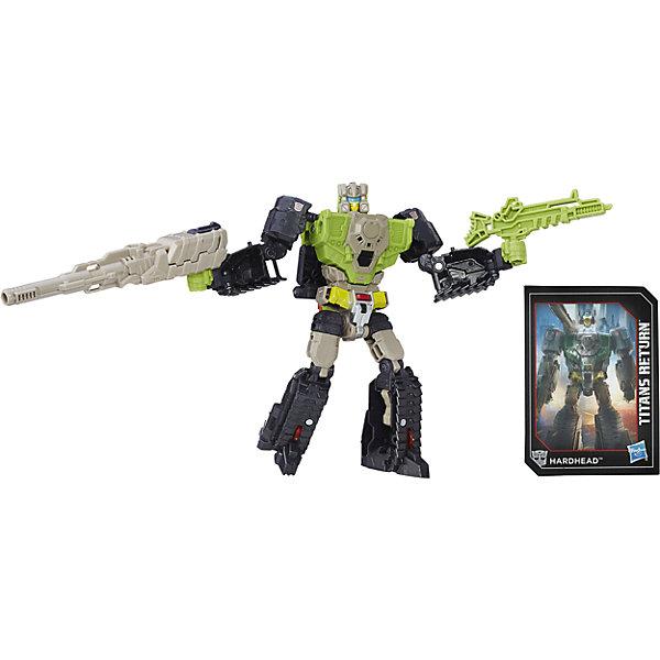 Фигурка Войны Титанов Дэлюкс, Дженерейшнс, Трансформеры, B7762/B7028Трансформеры-игрушки<br>Характеристики фигурки Войны Титанов Дэлюкс, Дженерейшнс, Трансформеры:<br><br>- возраст: от 8 лет<br>- пол: для мальчиков<br>- герои: Трансформеры / Transformers<br>- материал: пластик <br>- размер упаковки: 23 * 4 * 12 см.<br>- упаковка: блистер на картоне.<br>- высота трансформера: 23 см.<br>- вес: 27 г.<br>- страна обладатель бренда: США.<br><br>Трансформер Дженерейшнс Легендс: Войны Титанов от Hasbro (Хасбро) представляет собой игрушечную достоверную копию легендарного автобота. Данная игрушка станет желанным приобретением для мальчика и прекрасным подарком, так как торговая марка Hasbro (Хасбро) выпускает игрушки поистине превосходного качества. Эта игрушка порадует юных поклонников фантастической новеллы.<br>Данный трансформер может перевоплощаться в несколько образов, например из тигра перестроиться в компактный планшет для шпионов или летающий аппарат. Или, например, автобот Уилли может превратиться в гонку за тринадцать шагов. Помимо фигурки трансформера в наборе прилагается коллекционная карточка и чек-лист коллекционера.<br><br>Войны Титанов Вояджер, Дженерейшнс, Трансформеры торговой марки Hasbro можно купить в нашем интернет-магазине.<br><br>Ширина мм: 64<br>Глубина мм: 191<br>Высота мм: 1150<br>Вес г: 270<br>Возраст от месяцев: 96<br>Возраст до месяцев: 192<br>Пол: Мужской<br>Возраст: Детский<br>SKU: 5064758