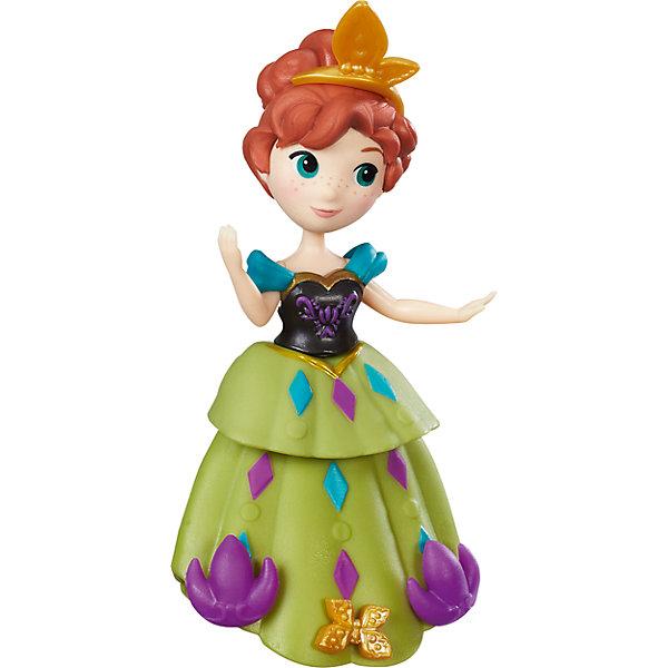 Маленькая кукла Анна, Холодное сердцеИгрушки<br>Характеристики маленькой куклы Холодное сердце:<br><br>- возраст: от 3 лет<br>- герой: холодное сердце / Frozen<br>- пол: для девочек<br>- комплект: мини-куклы Анна и Эльза, фигурка снеговика Олафа.<br>- материал: высококачественный пластик.<br>- размер упаковки: 25 * 16.5 * 5.5 см.<br>- высота мини-кукол: 9 см.<br>- высота фигурки снеговика:4 см.<br>- упаковка: картонная коробка блистерного типа.<br>- страна обладатель бренда: США.<br><br>Маленькие куклы Холодное сердце от Hasbro непременно понравится девочкам, являющимися поклонницами мультфильма о приключениях Эльзы и Анны.<br>Коллекционные куколки выглядят, как герои мультфильма. С ними можно разыграть любимые сценки или придумать новые веселые истории и приключения.<br>Игровой набор представлен в ассортименте: Эльза, Анна, Олаф, Кристоф.<br>С куколками Холодное сердце от Hasbro девочка сможет разнообразить сюжетно-ролевые игры, которые способствуют развитию воображения, пространственного мышления, фантазии.<br><br>Набор маленьких кукол Холодное сердце торговой марки Hasbro (Хасбо) можно купить в нашем интернет-магазине.<br><br>Ширина мм: 97<br>Глубина мм: 38<br>Высота мм: 325<br>Вес г: 59<br>Возраст от месяцев: 36<br>Возраст до месяцев: 72<br>Пол: Женский<br>Возраст: Детский<br>SKU: 5064766