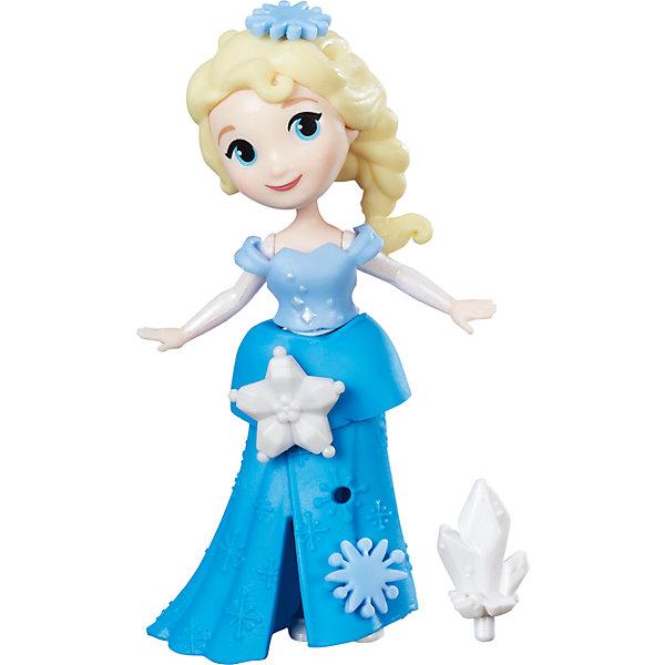 Маленькая кукла Анна, Холодное сердцеКуклы<br>Характеристики маленькой куклы Холодное сердце:<br><br>- возраст: от 3 лет<br>- герой: холодное сердце / Frozen<br>- пол: для девочек<br>- комплект: мини-куклы Анна и Эльза, фигурка снеговика Олафа.<br>- материал: высококачественный пластик.<br>- размер упаковки: 25 * 16.5 * 5.5 см.<br>- высота мини-кукол: 9 см.<br>- высота фигурки снеговика:4 см.<br>- упаковка: картонная коробка блистерного типа.<br>- страна обладатель бренда: США.<br><br>Героини Disney Princess Холодного сердца понравится юной поклоннице диснеевского анимационного фильма. Игровой набор состоит из двух маленьких кукол — Эльзы и Анны, а также множества различных фигурок и аксессуаров. Пышные платья героинь можно декорировать, в наборе имеются различные украшения. Набор предназначен для увлекательной сюжетно-ролевой игры: маленькая поклонница Холодного сердца  сможет воспроизвести любимые сценки из мультфильма или придумать собственный сюжет, полный приключений.<br><br>Набор маленьких кукол Холодное сердце торговой марки Hasbro (Хасбо) можно купить в нашем интернет-магазине.<br>Ширина мм: 97; Глубина мм: 38; Высота мм: 325; Вес г: 59; Возраст от месяцев: 36; Возраст до месяцев: 72; Пол: Женский; Возраст: Детский; SKU: 5064767;