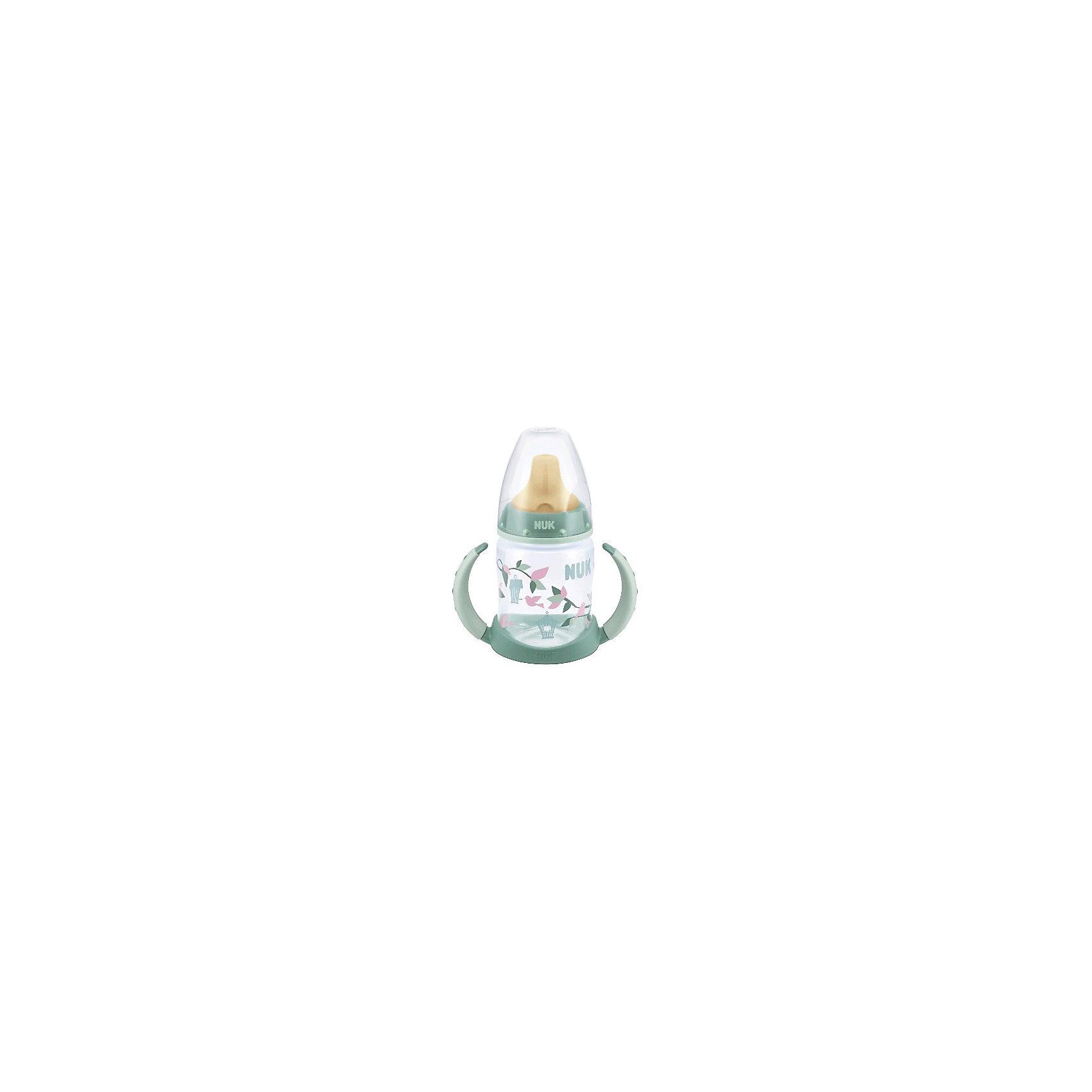 Бутылочка First Choice пласт. (ПП) 150 мл., NUK, нежно-зеленый