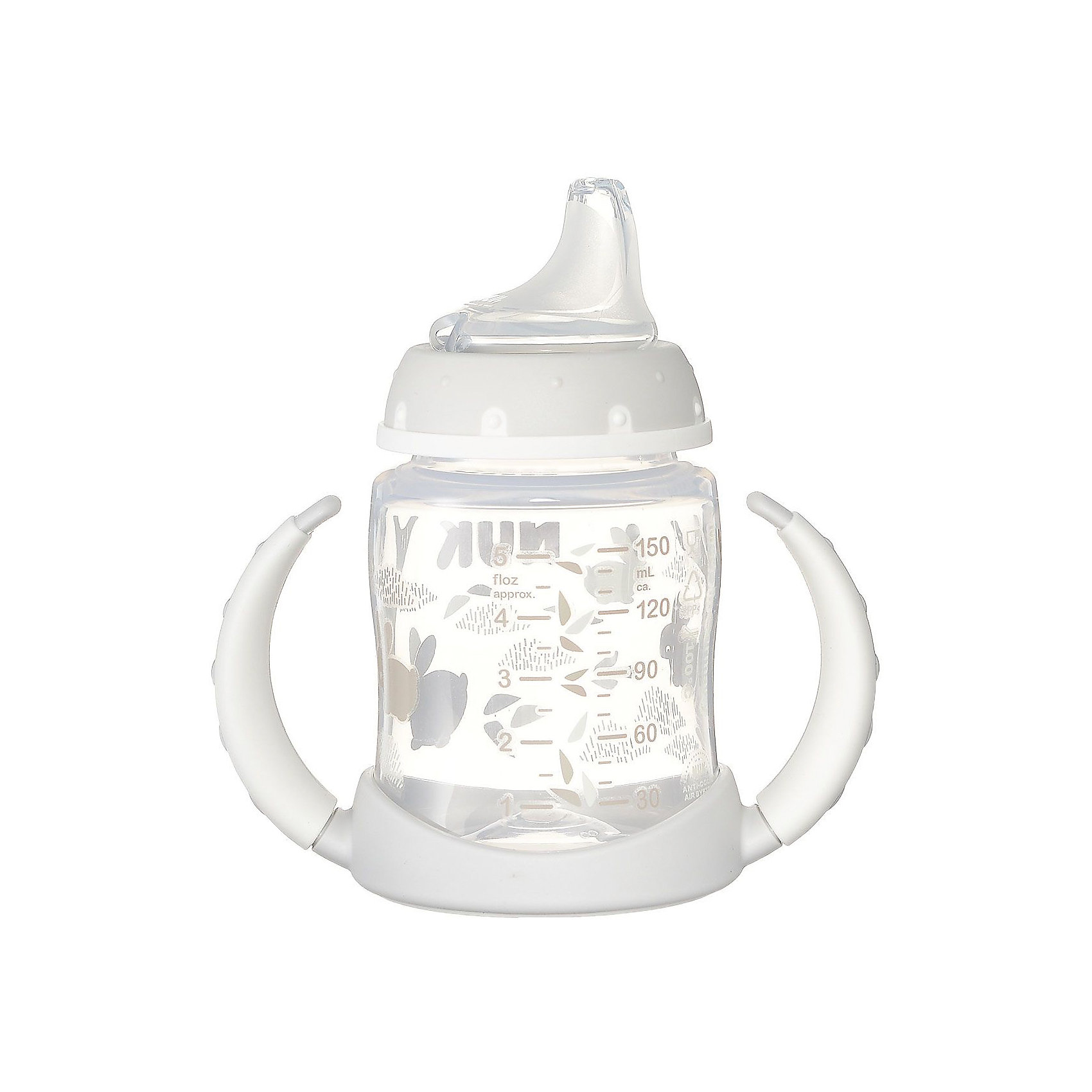Бутылочка First Choice пласт. (ПП) 150 мл., NUK, белый