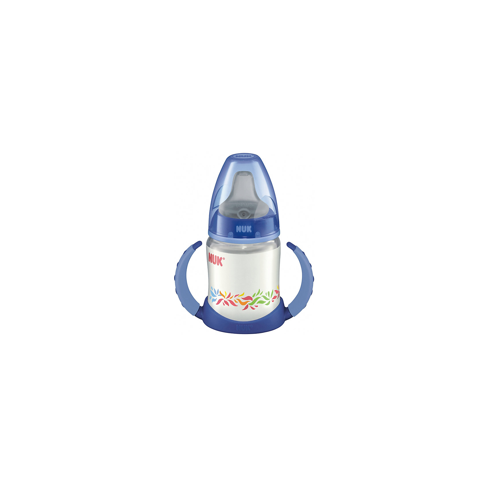 NUK Бутылочка First Choice-поильник, 150 мл., NUK, синий