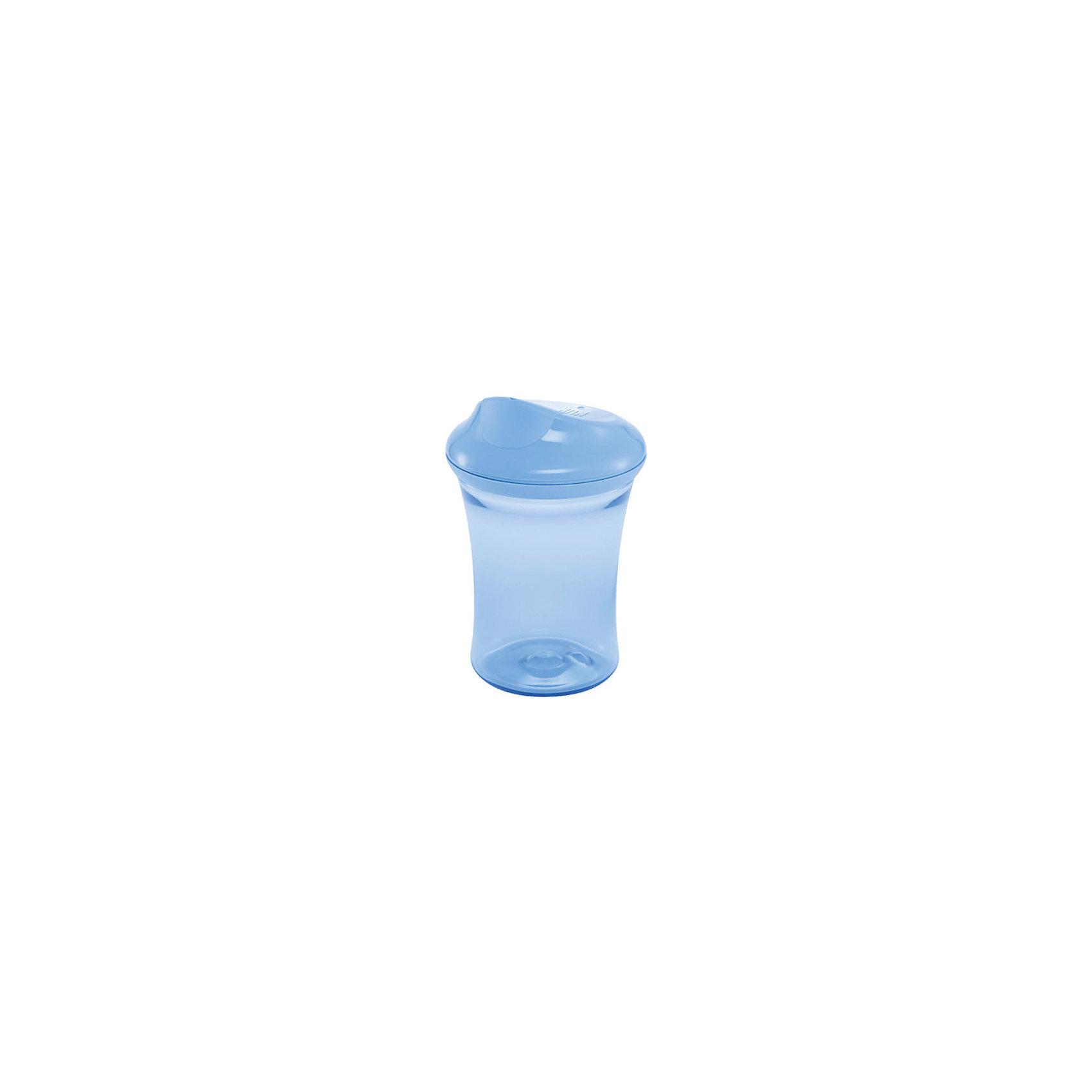 Поильник 3 с пластиковой насадкой 2 в 1 Easy Learning 275 мл. с 14 мес., NUK, синийХарактеристики изделия:<br><br>- объем: 275 мл;<br>- цвет: синий;<br>- материал: полипропилен;<br>- широкое горло;<br>- удобная форма;<br>- ручки;<br>- возраст: от 14 месяцев;<br>- клапаны от протекания.<br><br>Детские товары существенно облегчают жизнь молодым мамам. Существует множество полезных в период материнства вещей. К таким относится обыкновенная пластиковая бутылочка-поильник. <br>Данная модель оптимально подходит для детей, которые учатся пить самостоятельно. Предмет удобно держать. Поильник легко очищается от любых поверхностных загрязнений, так как имеет удобное широкое горлышко. Оптимальный объем позволит брать поильник в дорогу.<br><br>Поильник 3 с пластиковой насадкой 2 в 1 Easy Learning от производителя NUK можно купить в нашем магазине.<br><br>Ширина мм: 135<br>Глубина мм: 65<br>Высота мм: 162<br>Вес г: 170<br>Возраст от месяцев: 14<br>Возраст до месяцев: 2147483647<br>Пол: Унисекс<br>Возраст: Детский<br>SKU: 5065255