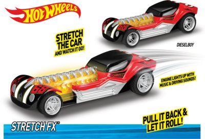 Toy State Машинка - Стретчмобиль (свет, звук), 16 см, Hot Wheels