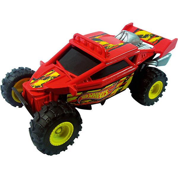 Машинка, красная, 13 см, Hot WheelsМашинки<br>Характеристики товара:<br><br>- цвет: красный;<br>- материал: пластик;<br>- особенности: во время движения машинка подпрыгивает и переворачивается;<br>- вес: 190 г;<br>- размер упаковки: 9х13х16;<br>- не на батарейках;<br>- размер машинки: 13 см.<br><br>Какой мальчишка откажется поиграть с коллекционной машинкой Hot Wheels, которая выглядит как настоящая?! Машинка очень эффектно смотрится, она подпрыгивает и переворачивается благодаря встроенной пружине. Игрушка отлично детализирована, очень качественно выполнена, поэтому она станет отличным подарком ребенку. Продается в красивой упаковке.<br>Изделия произведены из высококачественного материала, безопасного для детей.<br><br>Машинку Hot Wheels можно купить в нашем интернет-магазине.<br>Ширина мм: 90; Глубина мм: 130; Высота мм: 160; Вес г: 188; Возраст от месяцев: 36; Возраст до месяцев: 2147483647; Пол: Мужской; Возраст: Детский; SKU: 5066734;