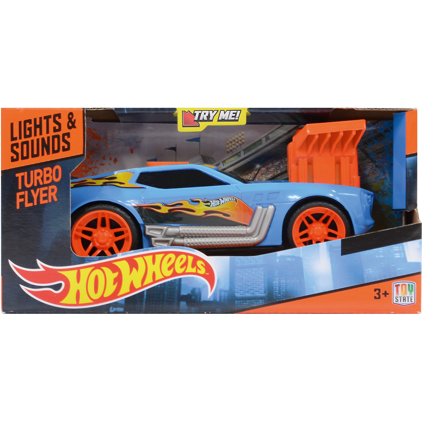 Машинка, синяя, 19 см, Hot Wheels