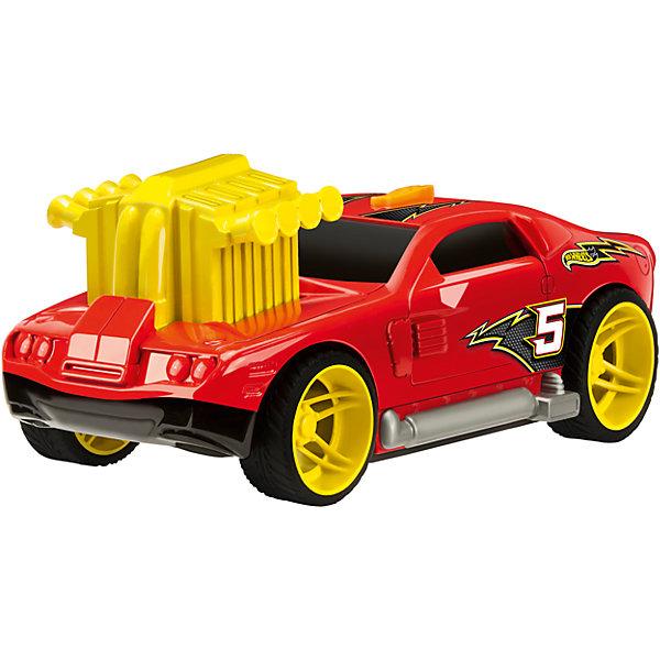 Машинка, красная, 19 см, Hot WheelsМашинки<br>Характеристики товара:<br><br>- цвет: красный;<br>- материал: пластик;<br>- особенности: стильный дизайн;<br>- вес: 490 г;<br>- размер упаковки: 12х23х11;<br>- не на батарейках;<br>- размер машинки: 19 см.<br><br>Какой мальчишка откажется поиграть с коллекционной машинкой Hot Wheels, которая выглядит как настоящая?! Машинка очень эффектно смотрится благодаря внушительному турбонаддуву. Игрушка отлично детализирована, очень качественно выполнена, поэтому она станет отличным подарком ребенку. Продается в красивой упаковке.<br>Изделия произведены из высококачественного материала, безопасного для детей.<br><br>Машинку Hot Wheels можно купить в нашем интернет-магазине.<br>Ширина мм: 110; Глубина мм: 115; Высота мм: 230; Вес г: 473; Возраст от месяцев: 36; Возраст до месяцев: 2147483647; Пол: Мужской; Возраст: Детский; SKU: 5066737;