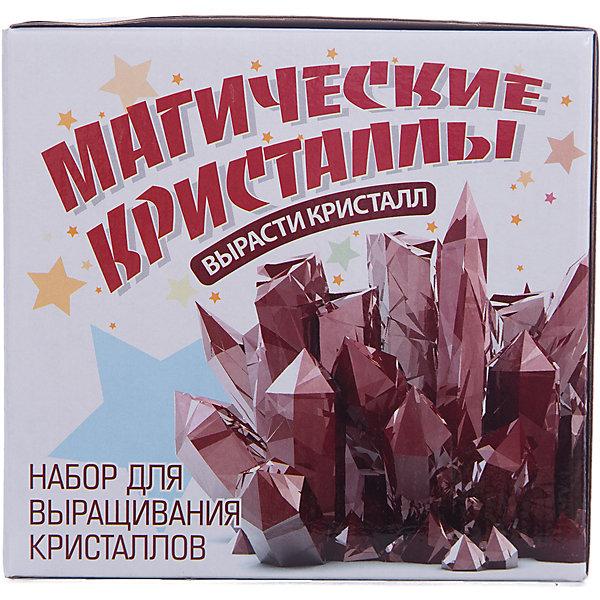 Набор для  экспериментов Юный химик, Магические кристаллыВыращивание кристаллов<br>Возможность вырастить настоящий кристалл в домашних условиях.<br><br>Ширина мм: 170<br>Глубина мм: 170<br>Высота мм: 160<br>Вес г: 1000<br>Возраст от месяцев: 120<br>Возраст до месяцев: 192<br>Пол: Унисекс<br>Возраст: Детский<br>SKU: 5067637