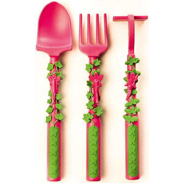 Набор из трех столовых приборов Серия Волшебный сад, Constructive Eating, розовыйДетская посуда<br>Набор из трех столовых приборов Серия Волшебный сад, Constructive Eating, розовый.<br><br>Характеристики:<br>• стимулирует интерес к приему пищи<br>• в наборе: вилка, ложка, толкатель<br>• изготовлены из качественного, экологически чистого пластика<br>• не содержит бисфенол-А, поливинилхлорид, свинец и фталаты<br>• подходит для посудомоечных машин<br>• сочетается с тарелкой серии Волшебный сад, Constructive Eating<br>• длина вилки: 14,5 см<br>• длина ложки: 15,5 см<br>• длина толкателя: 14,5 см<br>• размер упаковки: 25х15х10 см<br>• вес упаковки: 450 грамм<br>• цвет: розовый<br><br>Эти столовые приборы привлекут к еде даже самых привередливых малоежек. Все приборы выполнены в виде садовых инструментов: вил, лопаты и грабель, украшены веточками плюща. Приборы полностью безопасны для ребенка, их можно мыть в посудомоечной машине. Самое время навести порядок в саду!<br><br>Набор из трех столовых приборов Серия Волшебный сад, Constructive Eating, розовый можно приобрести в нашем интернет-магазине.<br><br>Ширина мм: 155<br>Глубина мм: 35<br>Высота мм: 245<br>Вес г: 45<br>Возраст от месяцев: 3<br>Возраст до месяцев: 36<br>Пол: Женский<br>Возраст: Детский<br>SKU: 5068738