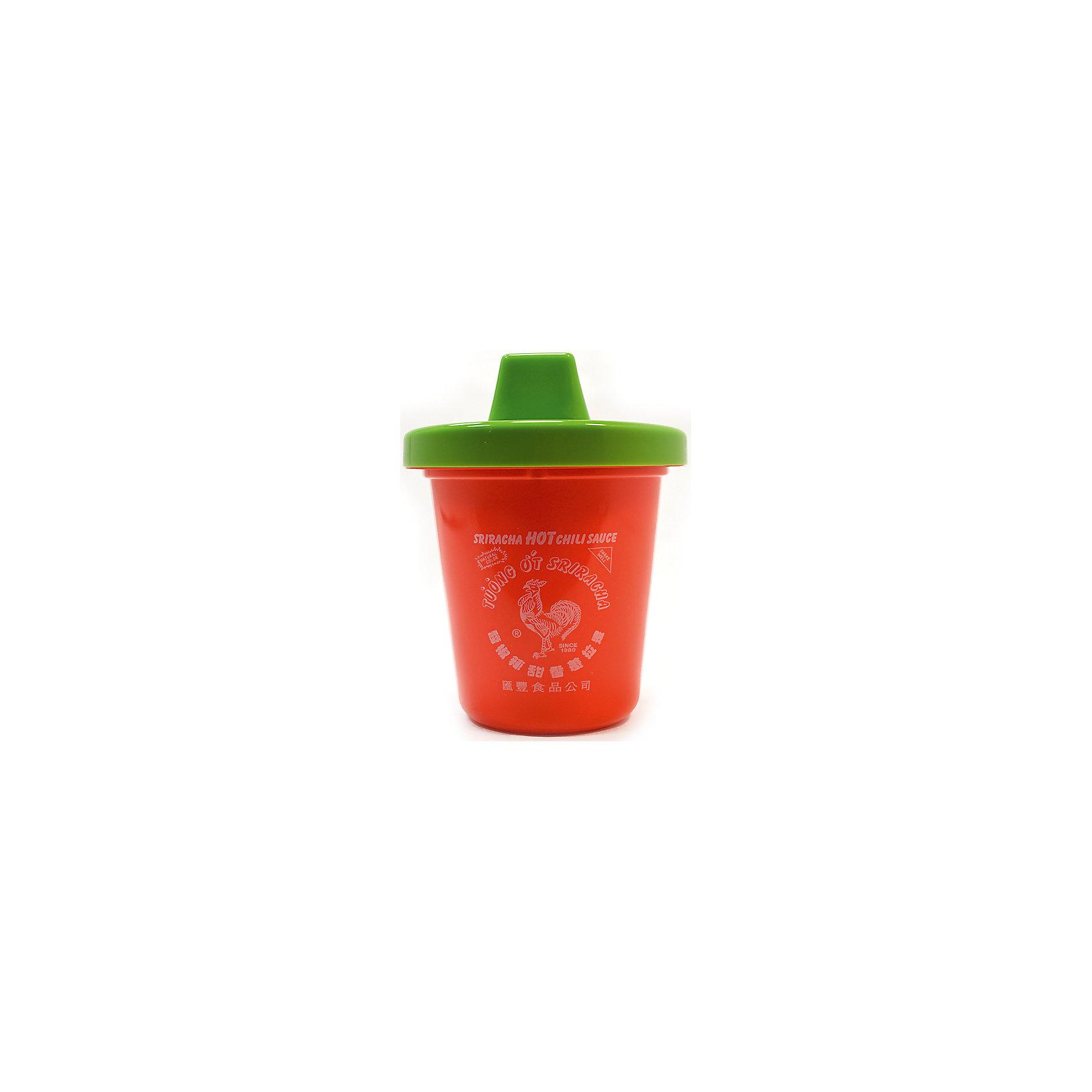 Поильник Sriracha Sippy Cup, GamagoПоильники<br>Поильник Sriracha Sippy Cup, Gamago.<br><br>Характеристики:<br>• изготовлен из прочного качественного пластика<br>• не содержит бисфенол-А<br>• крышка-непроливайка<br>• подходит для посудомоечной машины<br>• удобен для детских рук<br>• легко мыть<br>• оригинальный дизайн<br>• материал: пластик<br>• объем: 225 мл<br>• размер: 10х10х12 см<br>• цвет: красный/зеленый<br><br>Поильник Sriracha Sippy Cup, Gamago изготовлен из экологически чистых материалов, безопасных для ребенка. Крышка-непроливайка обеспечит крохе сухость во время использования. Необычный дизайн поильника создан специально для любителей острого чили. Прекрасный выбор для стильных детей!<br><br>Поильник Sriracha Sippy Cup, Gamago вы можете купить в нашем интернет-магазине.<br><br>Ширина мм: 80<br>Глубина мм: 800<br>Высота мм: 135<br>Вес г: 36<br>Возраст от месяцев: 6<br>Возраст до месяцев: 36<br>Пол: Унисекс<br>Возраст: Детский<br>SKU: 5068747