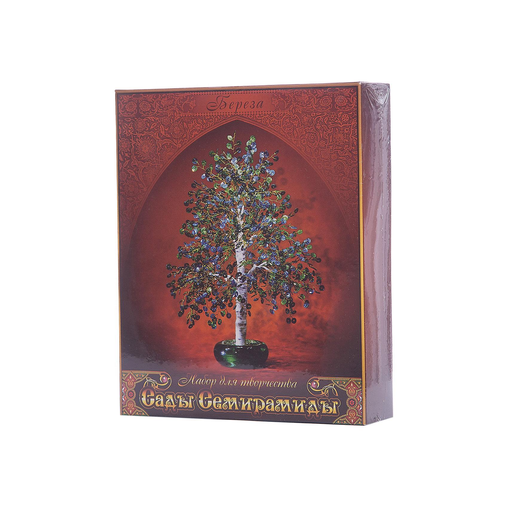 - Набор для творчества Сады Семирамиды Береза наборы для творчества lori набор для рукоделия дерево счастья рябинка