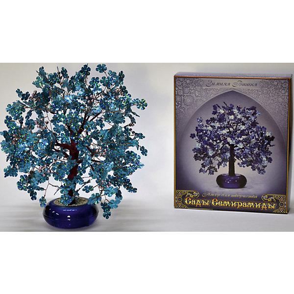 Набор для творчества Сады Семирамиды Зимняя вишняДеревья и картины из пайеток<br>Серия «Сады Семирамиды» представляют собой комплект необходимых<br>материалов, используя которые можно создать своё «Волшебное дерево» из каждого набора. Наборы предназначены для семейного творчества.<br><br>Ширина мм: 14<br>Глубина мм: 3<br>Высота мм: 17<br>Вес г: 380<br>Возраст от месяцев: 84<br>Возраст до месяцев: 192<br>Пол: Унисекс<br>Возраст: Детский<br>SKU: 5068869