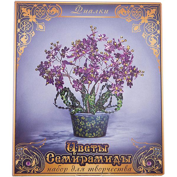Набор для творчества Цветы Семирамиды Фиалки