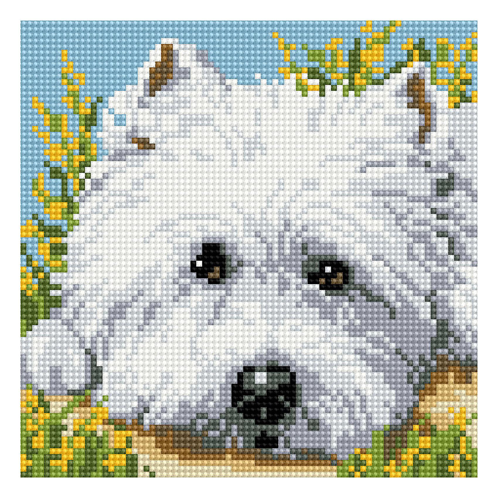TUKZAR Алмазная мозаика по номерам Собака 20х20 см фотопанно флизелиновое divino 143 вишневый сад 143 1 036