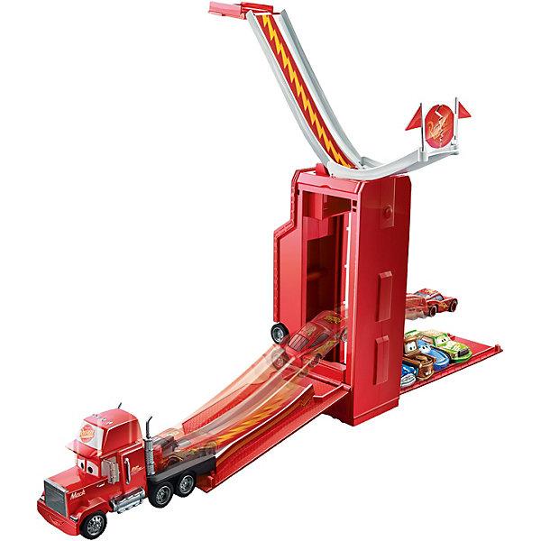 Игровой набор Трансформирующийся Мак, ТачкиТачки Игрушки<br>Характеристики товара:<br><br>• возраст: от 4 лет;<br>• материал: пластик;<br>• в комплекте: трейлер;<br>• размер упаковки: 26х31х8 см;<br>• вес упаковки: 720 гр.;<br>• страна производитель: Китай.<br><br>Игровой набор «Трансформирующийся Мак» Тачки создан по мотивам известного мультфильма «Тачки». В наборе представлен трейлер Мак, который часто перевози главного персонажа Молнию Маккуина. <br><br>Всего за несколько простых движений Мак превращается в гоночный трек, который оснащен пусковым механизмом для машинок и трамплином для запуска. Базовая машинка в комплект не входит.<br><br>Игровой набор «Трансформирующийся Мак» Тачки можно приобрести в нашем интернет-магазине.<br>Ширина мм: 310; Глубина мм: 259; Высота мм: 88; Вес г: 723; Возраст от месяцев: 48; Возраст до месяцев: 84; Пол: Мужской; Возраст: Детский; SKU: 5070811;