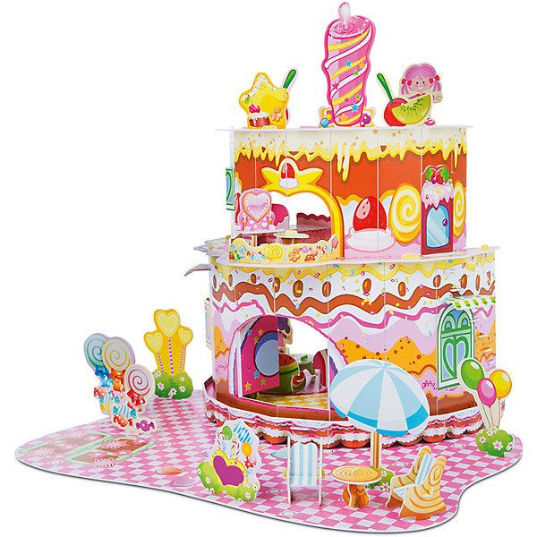 3D пазл Дом, милый дом, Melissa &amp; Doug3D пазлы<br>3D пазл Дом, милый дом, Melissa &amp; Doug (Мелисса и Даг).<br><br>Характеристики:<br><br>- В наборе: более 100 деталей из пенного материала<br>- Длина домика в собранном виде: 41х41х38 см.<br>- Размер упаковки: 42х29х2 см.<br>- Вес: 500 гр.<br><br>3D пазл Дом, милый дом от бренда Melissa&amp;Doug (Мелисса и Даг) поможет вашей малышке создать красочный домик и придумать множество сюжетно-ролевых игр. Благодаря простой инструкции он легко собирается из отдельных элементов по принципу объемного пазла. Для сборки не требуются ножницы и клей: все детали оснащены специальными выемками для соединения. Каждая деталь пронумерована. Готовый домик представляет собой срез двухъярусного торта с тремя комнатами, балконом и просторным внутренним двором. В комплекте есть четыре фигурки, мебель, предметы интерьера и яркие декорации. Ваша девочка будет с удовольствием принимать гостей, укладывать кукол спать и делать перестановку в доме! Все детали выполнены из высококачественного пенного материала и раскрашены нетоксичными красками. Сборка 3D пазла способствует развитию моторики, координации движений, концентрации внимания, воображения и усидчивости.<br><br>3D пазл Дом, милый дом, Melissa &amp; Doug (Мелисса и Даг) можно купить в нашем интернет-магазине.<br><br>Ширина мм: 430<br>Глубина мм: 20<br>Высота мм: 290<br>Вес г: 454<br>Возраст от месяцев: 72<br>Возраст до месяцев: 2147483647<br>Пол: Женский<br>Возраст: Детский<br>SKU: 5074359